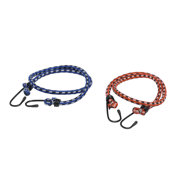 Gumové lano s háčky (gumicuk) 2ks délka 80 cm