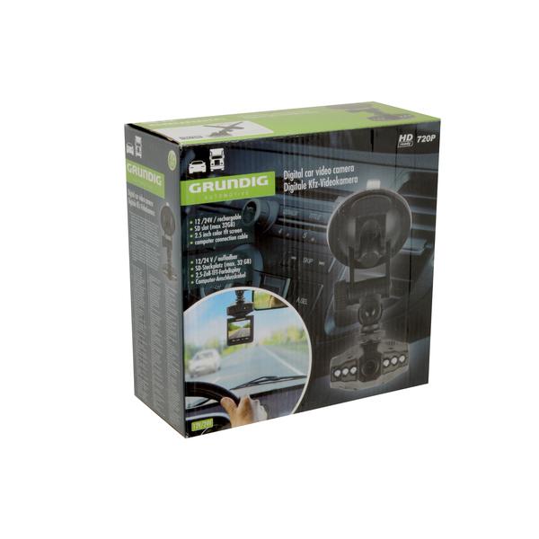 """Grundig 46921 digitální záznamová kamera do auta s 2.5"""" displejem"""