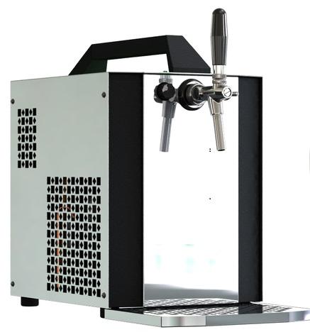 Výčepní zařízení Sinop AK40-1K s vestavěným vzduchovým kompresorem