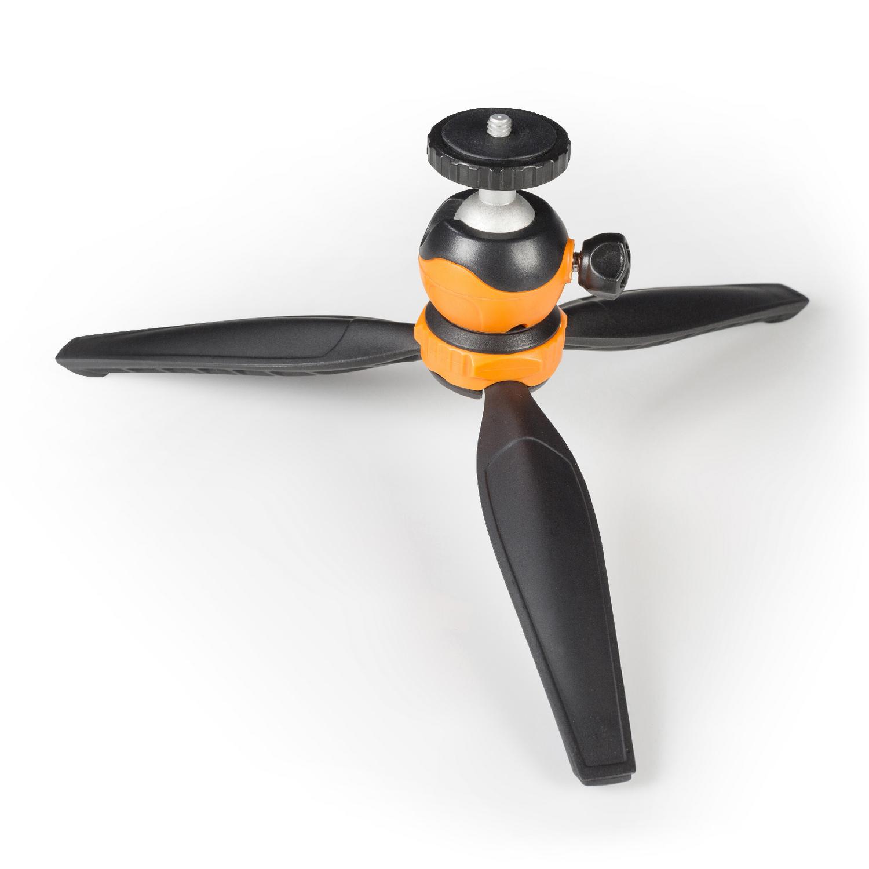 Flexibilní nastavitelný stativ 14 cm pro smartphone/kameru Camlink CL-MT10