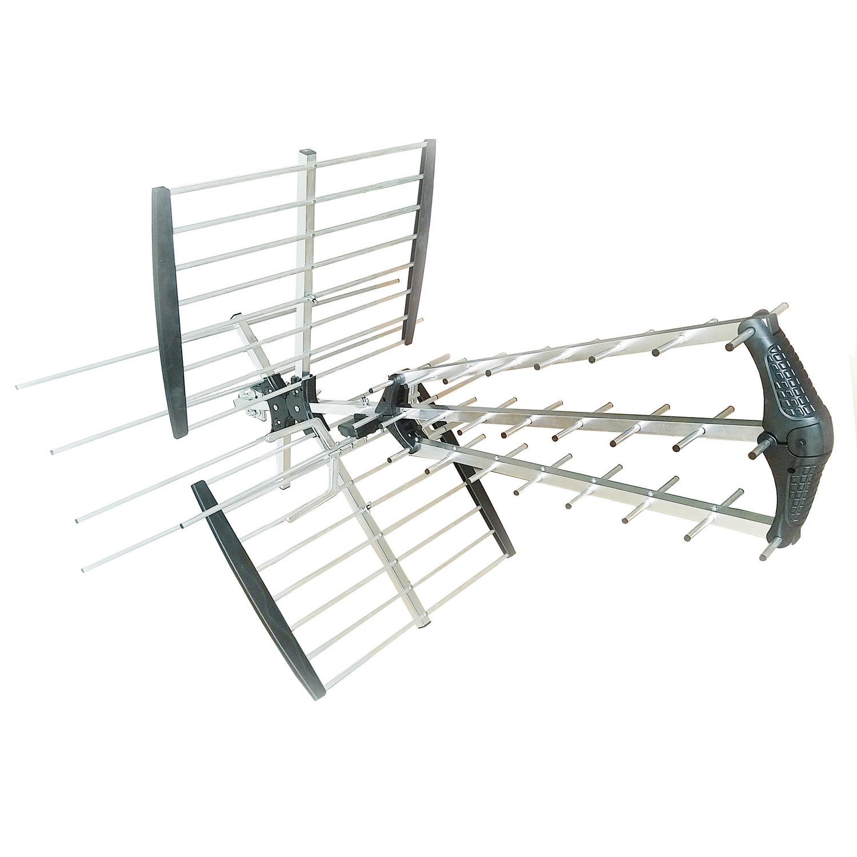 König KNANUV01BLTE venkovní anténa 18 dB VHF/UHF DVB-T/T2 LTE 700