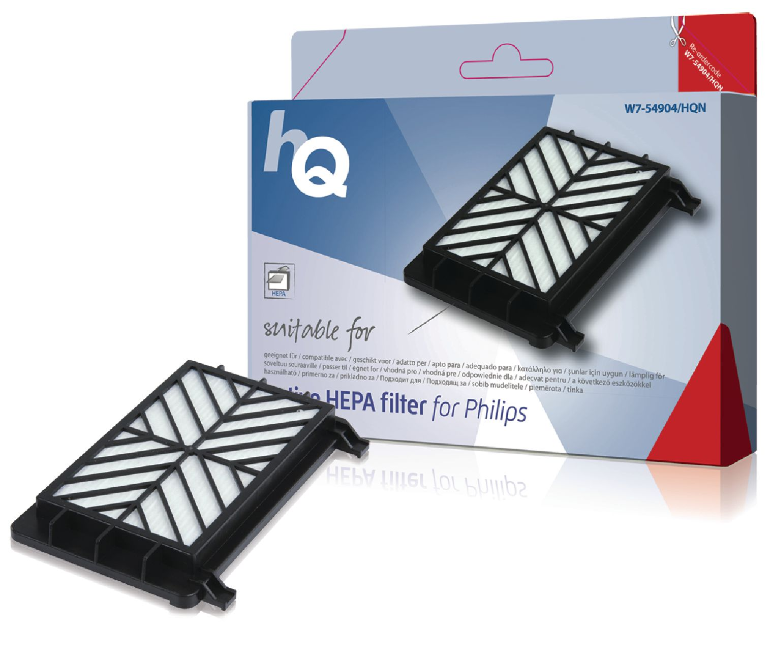 Náhradní aktivní HEPA Filtr Philips, W7-54904-HQN