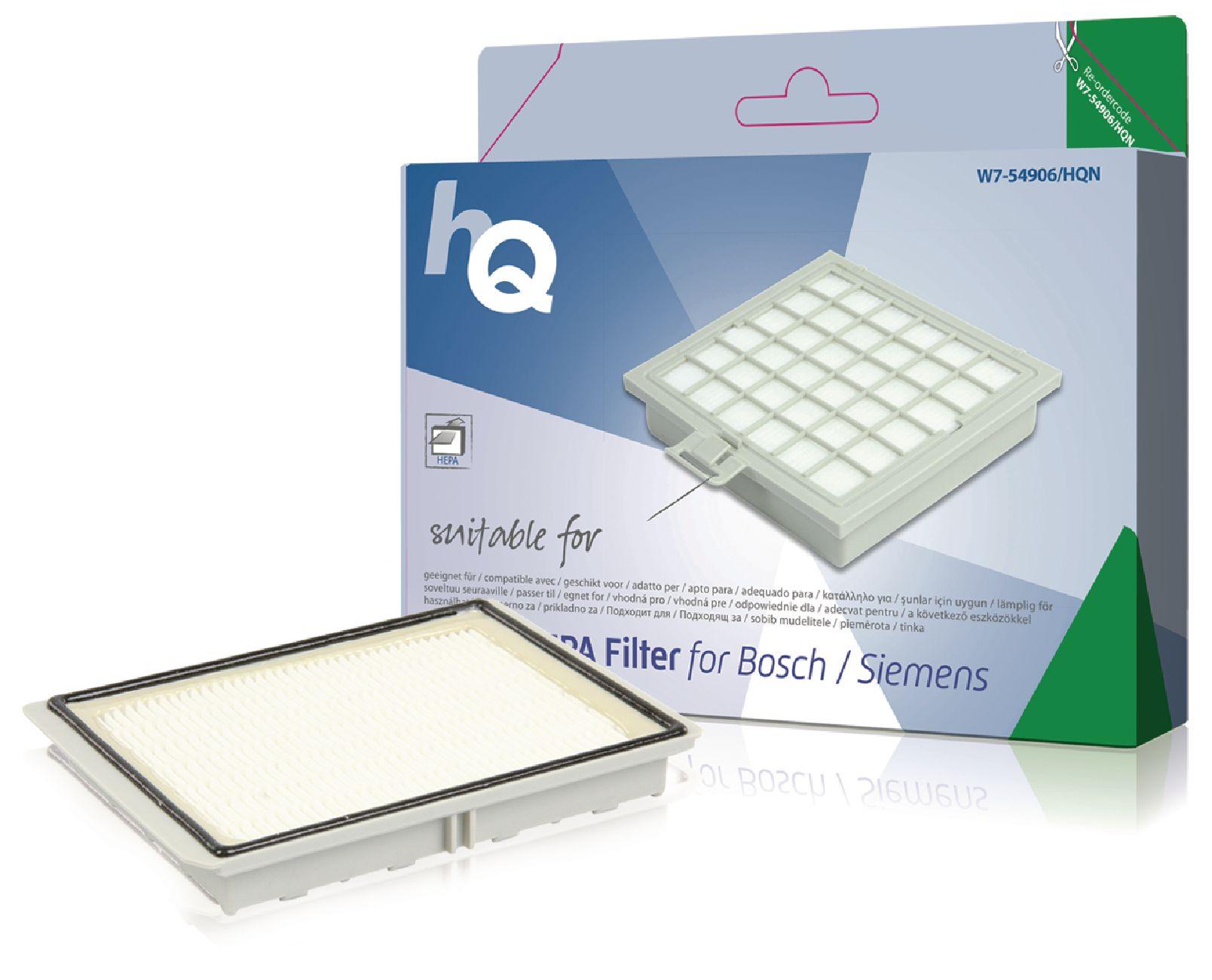 Náhradní aktivní HEPA filtr Bosh/Siemens 263506