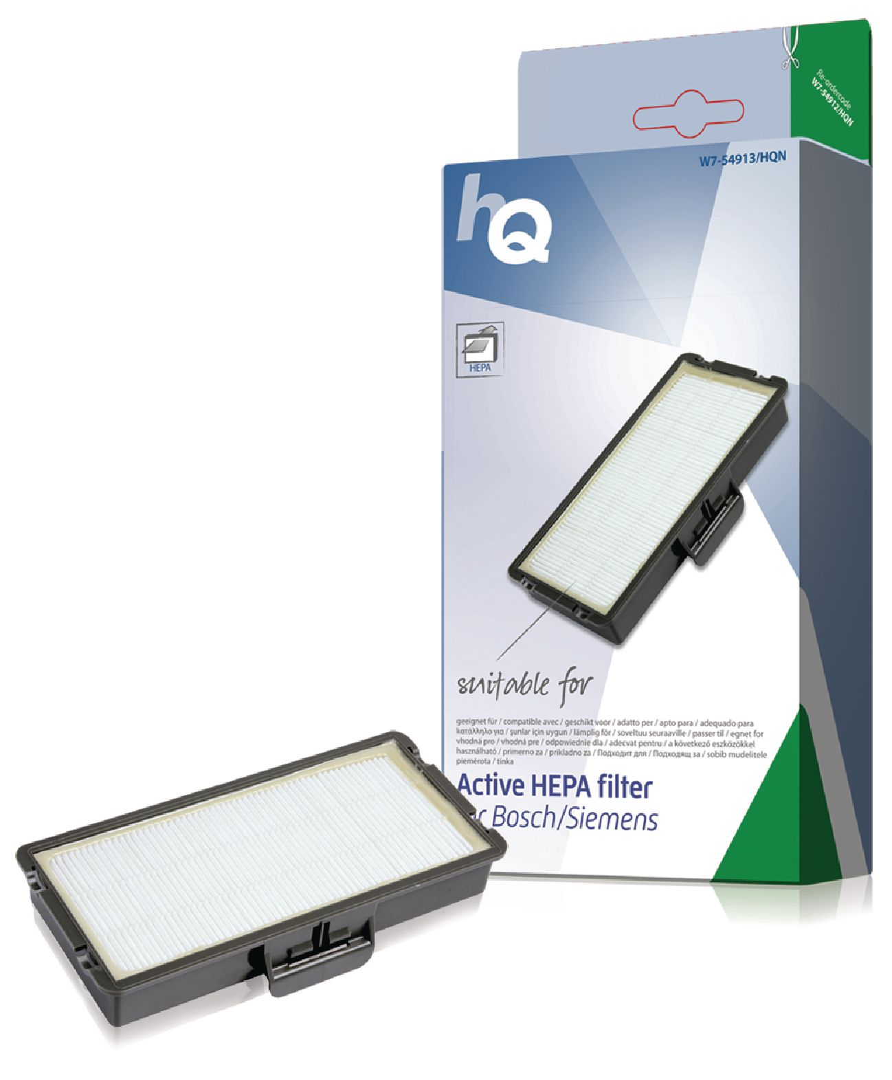 Náhradní aktivní HEPA Filtr Bosch/Siemens - 491669