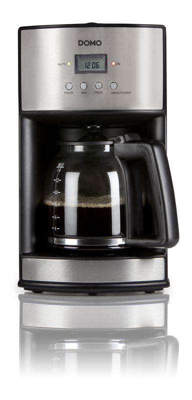 Kávovar s časovačem - DOMO DO473KT - dTest! , 1,8l, s časovačem