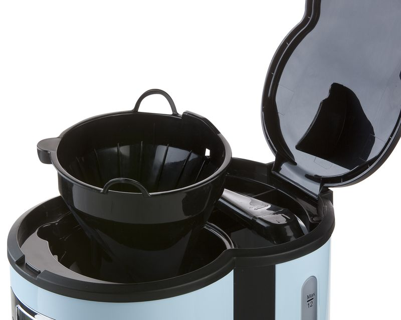 Moderní kávovar - překapávač - DOMO DO478K, s časovačem, modrý