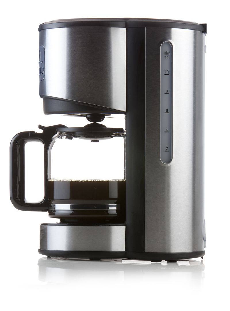 Moderní kávovar - překapávač - DOMO DO479K, s časovačem, nerez