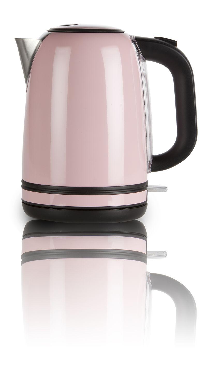 Rychlovarná konvice nerezová růžová - DOMO DO487WK, 1,7l, Otter, 2200 W