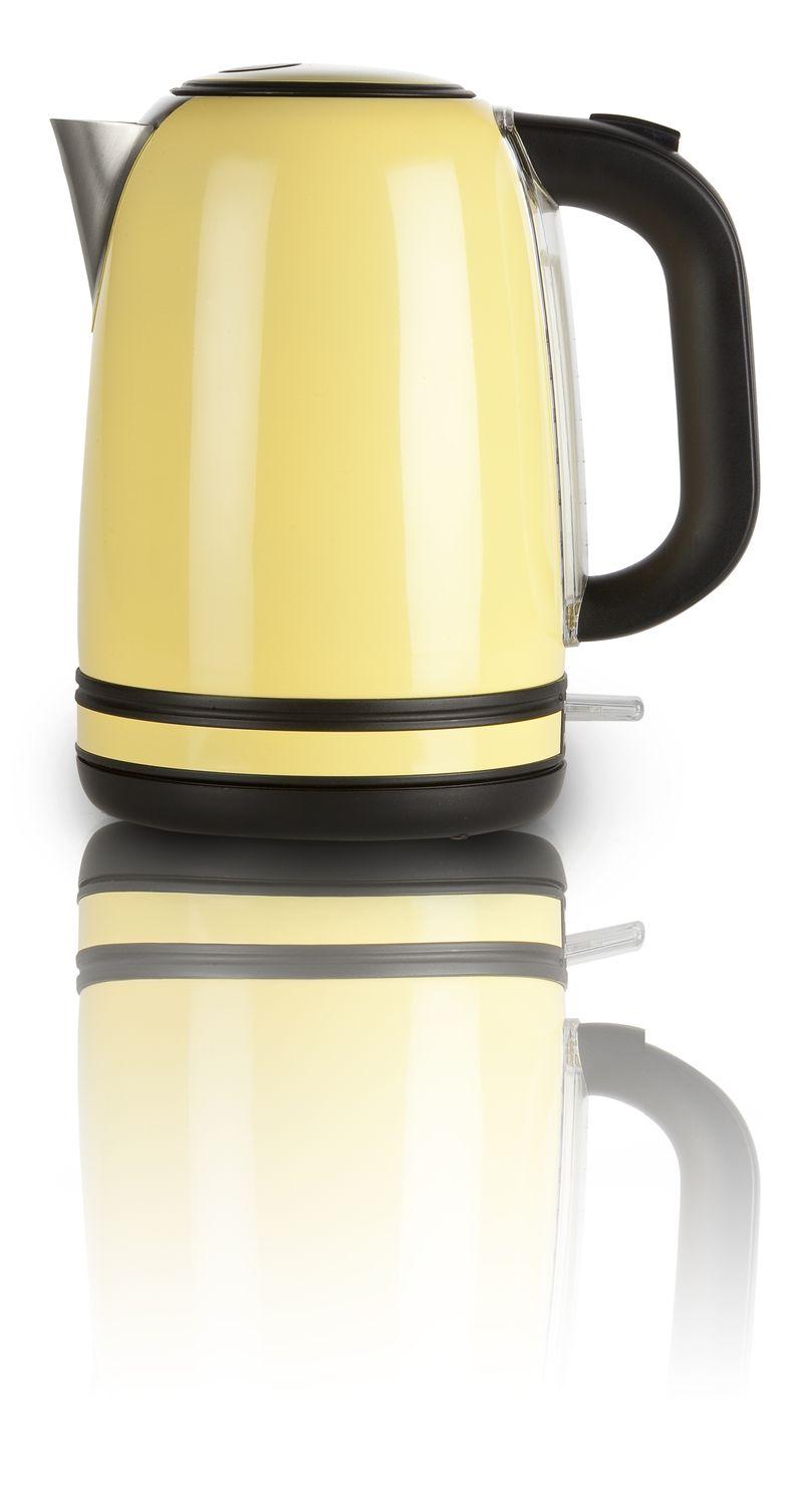 Rychlovarná konvice nerezová žlutá - DOMO DO490WK, 1,7l, Otter, 2200 W