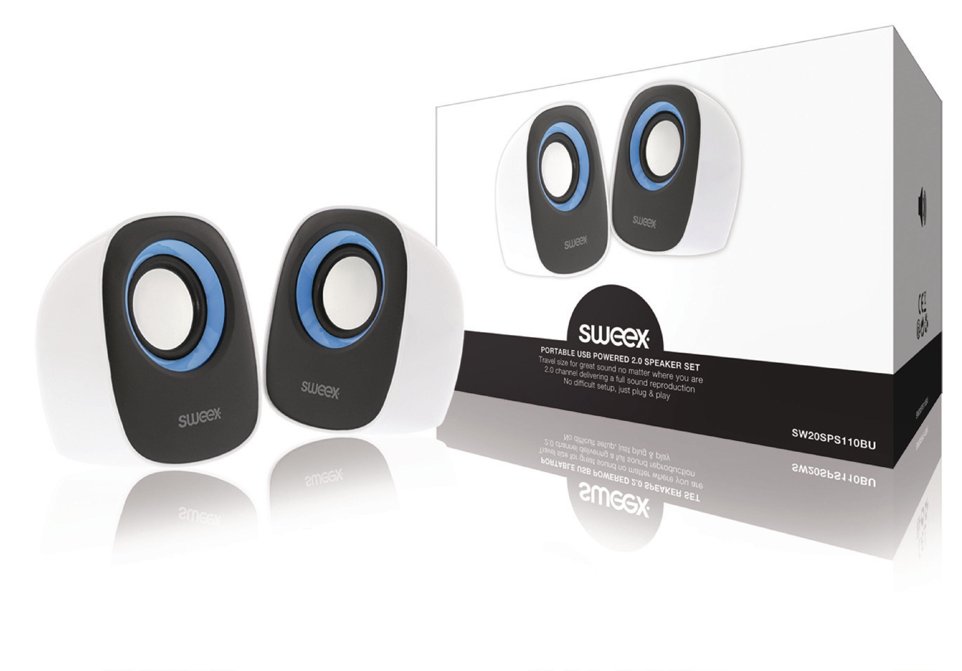Sweex stereo reproduktory 4W
