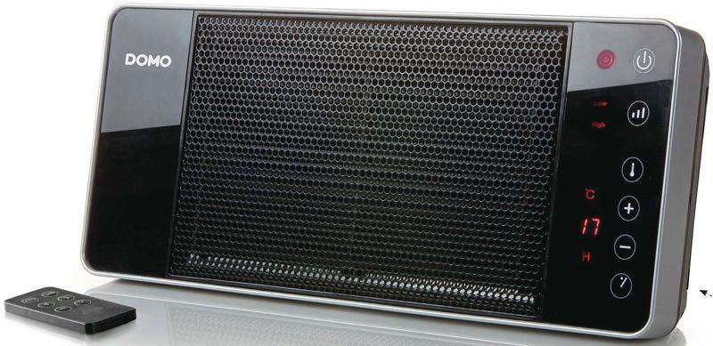 Závěsné keramické topení s ventilátorem - DOMO DO7341H, IP21