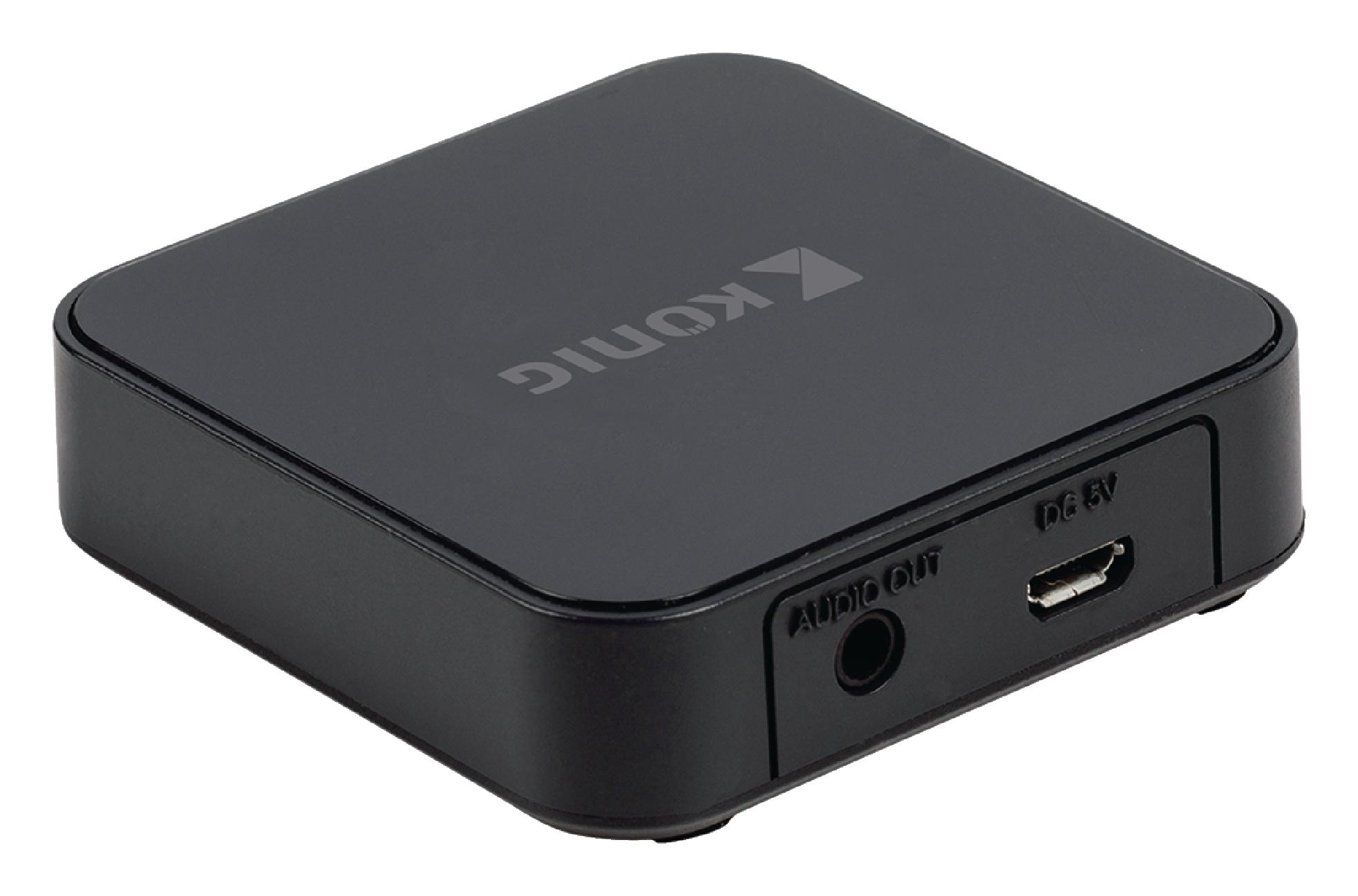 Bluetooth audio přijímač König CSBTRCVR100