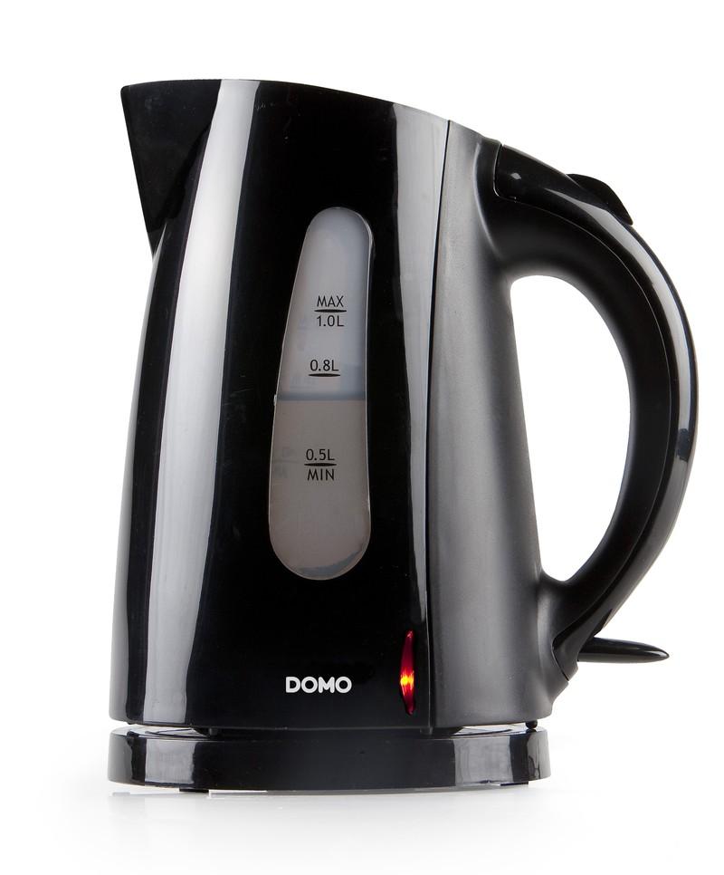 Rychlovarná konvice - DOMO DO9031WK, černá, 1l, 1200W
