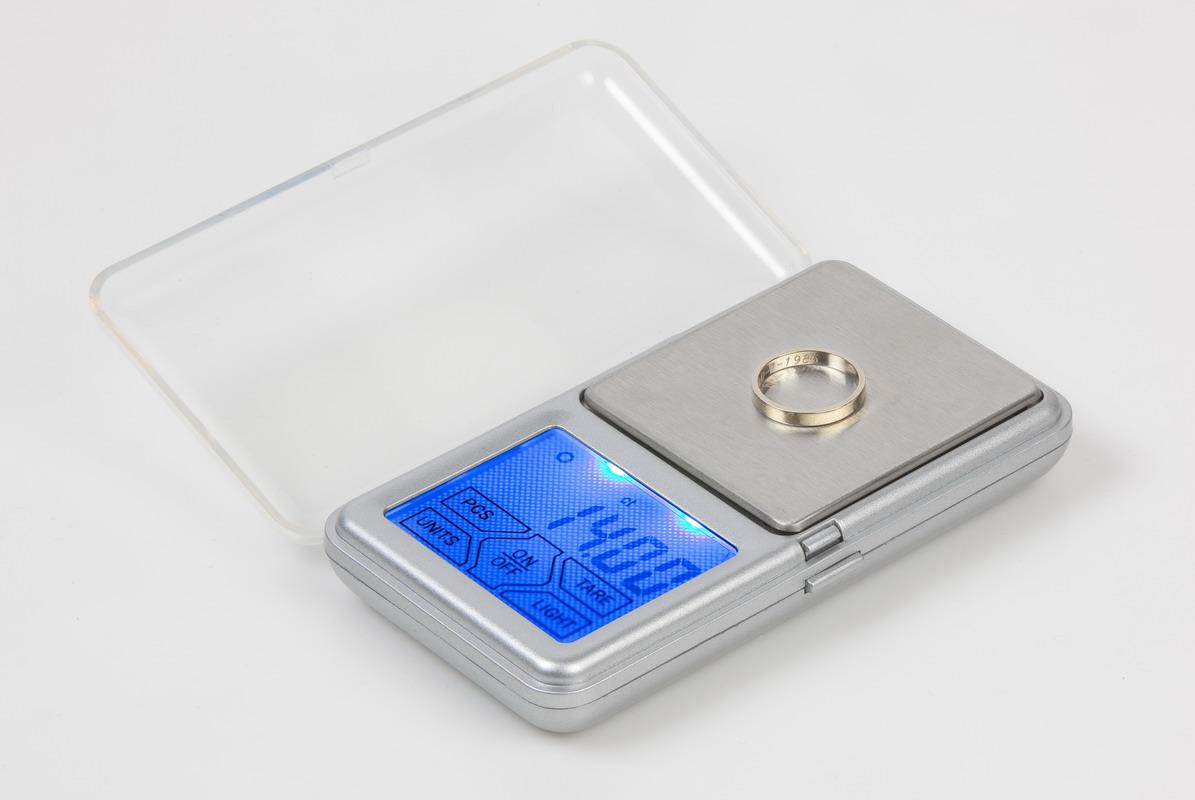 Laboratorní, zlatnická váha - DOMO DO9096W, digitální, kapesní