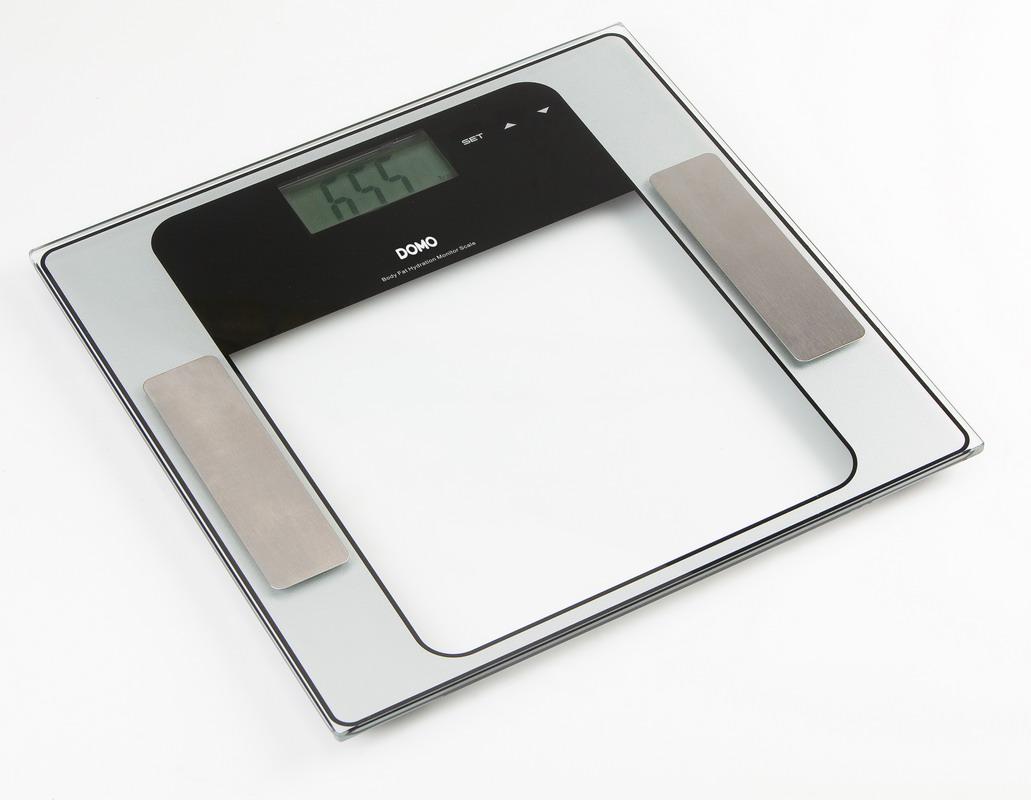 Osobní váha s měřením tuku a těla - DOMO DO 9099 W