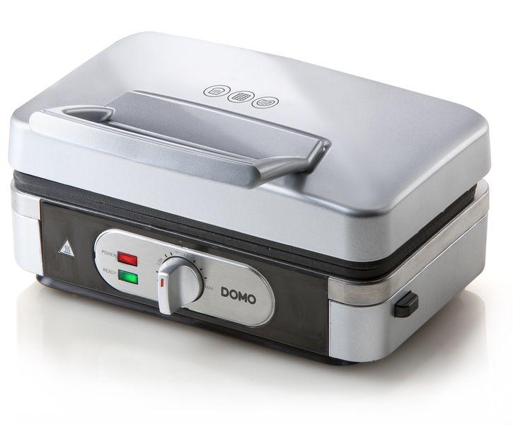 Sendvičovač - gril - vaflovač - 3v1 - DOMO DO9136C, nástupce za DO9055C