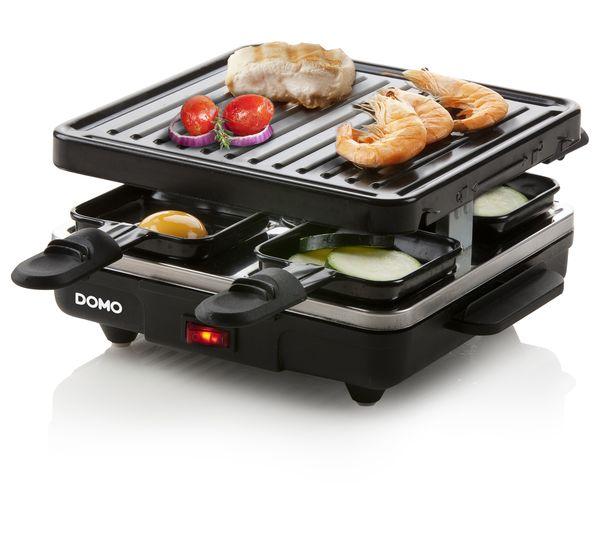 Raclette gril pro 4 - DOMO DO9147G, pro 4 lidi, 600W