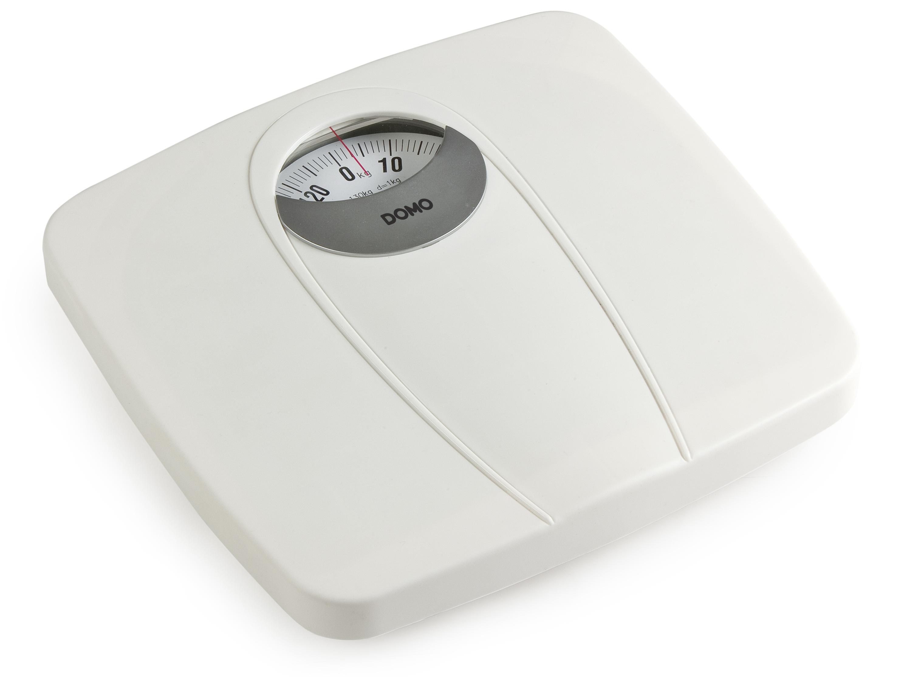 Osobní váha mechanická - DOMO DO9163W, bílá