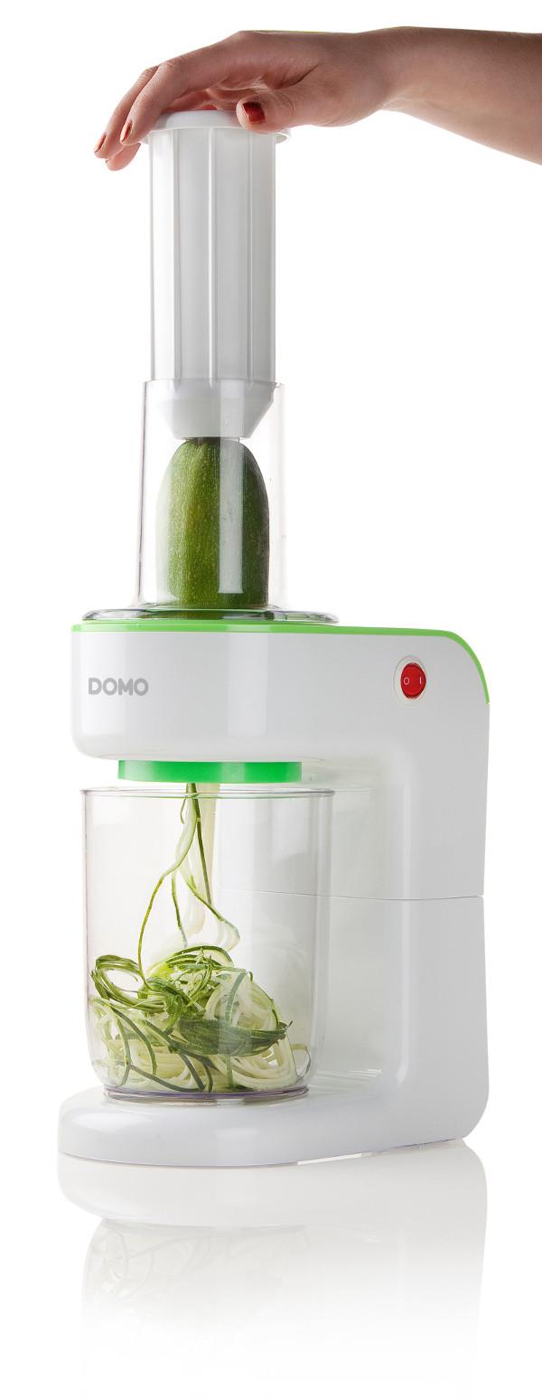 Elektrický spiralizér - DOMO DO9171SP, Zelený