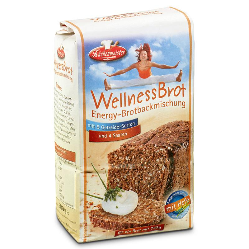 Chlebové směsi - Wellness Energy