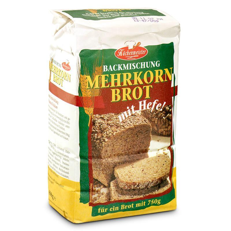 Chlebové směsi - Vícezrnný chléb