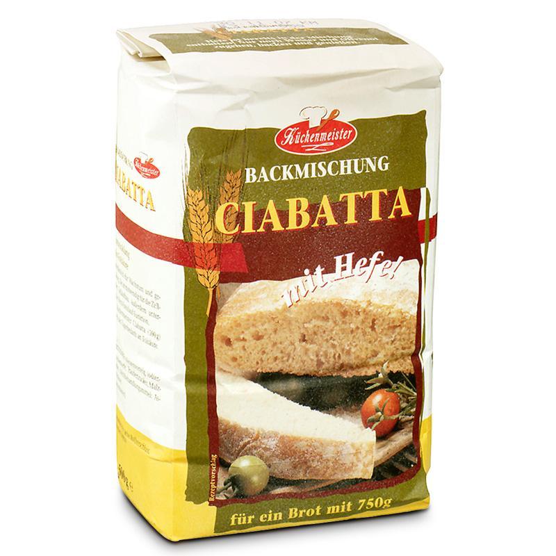 Chlebové směsi - Italský chléb Ciabatta