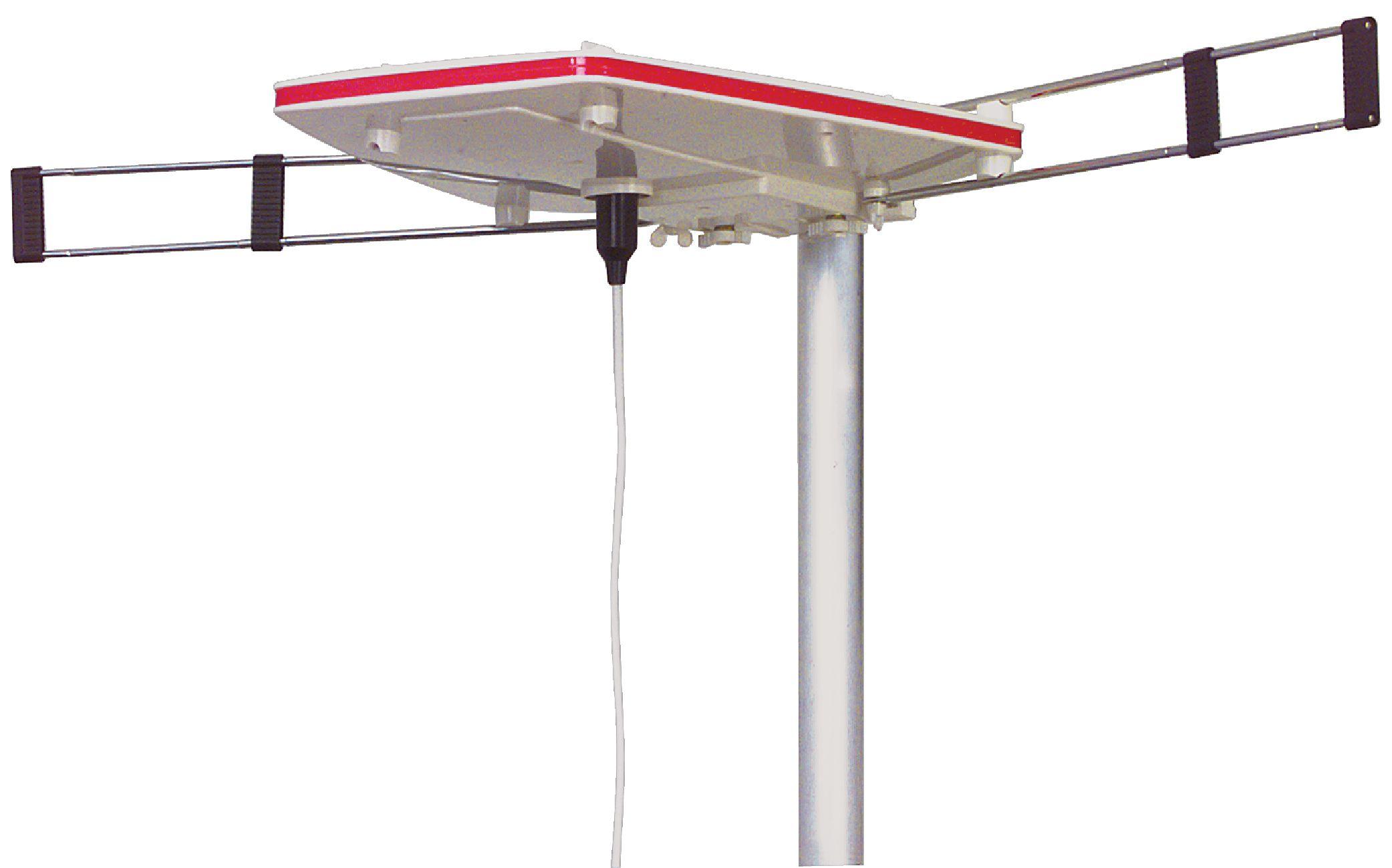 Anténa pro karavan FM/VHF/UHF DVB-T/T2-DAB+ 24 dB, König KN-ANT-CAMP