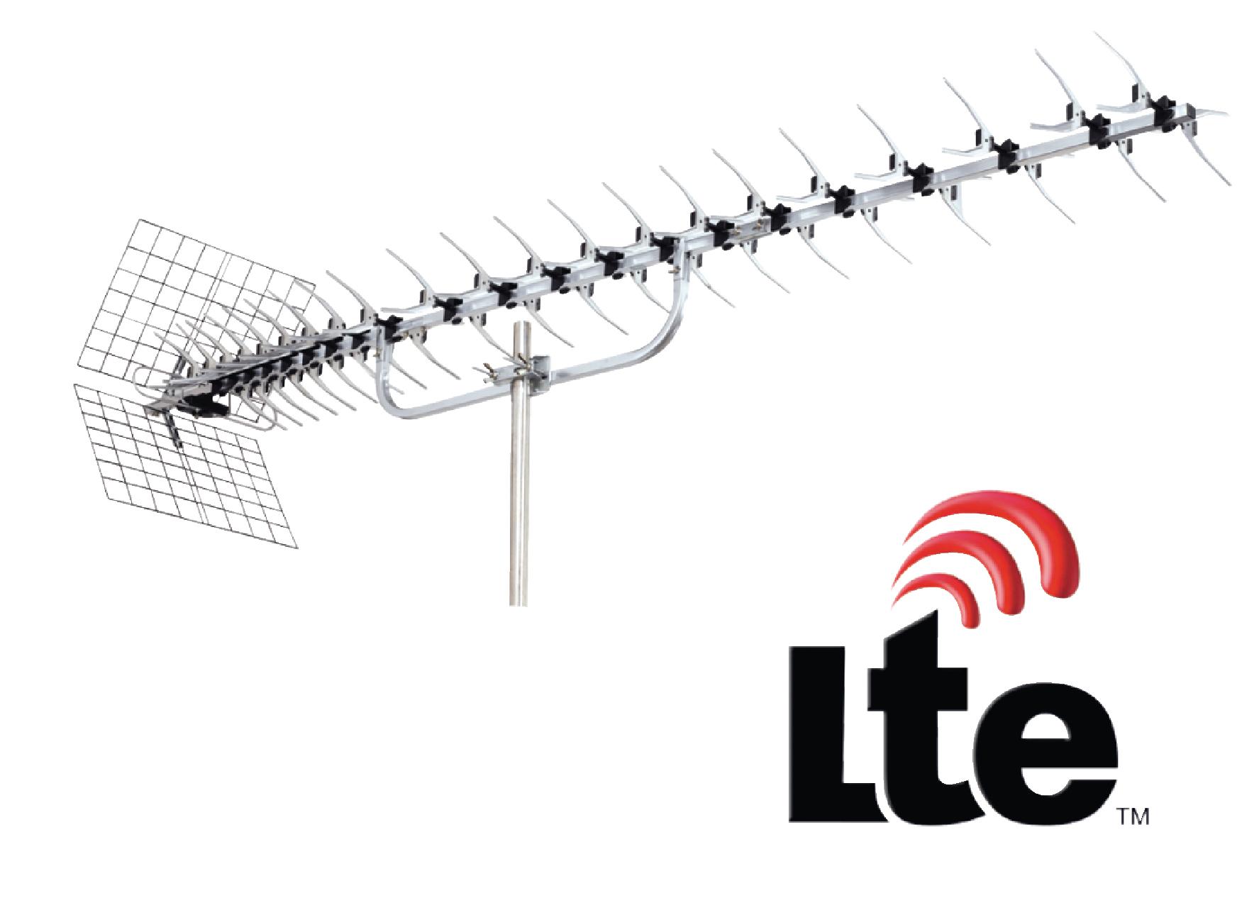 Anténa König UHF DVB-T/T2 LTE 16 dB