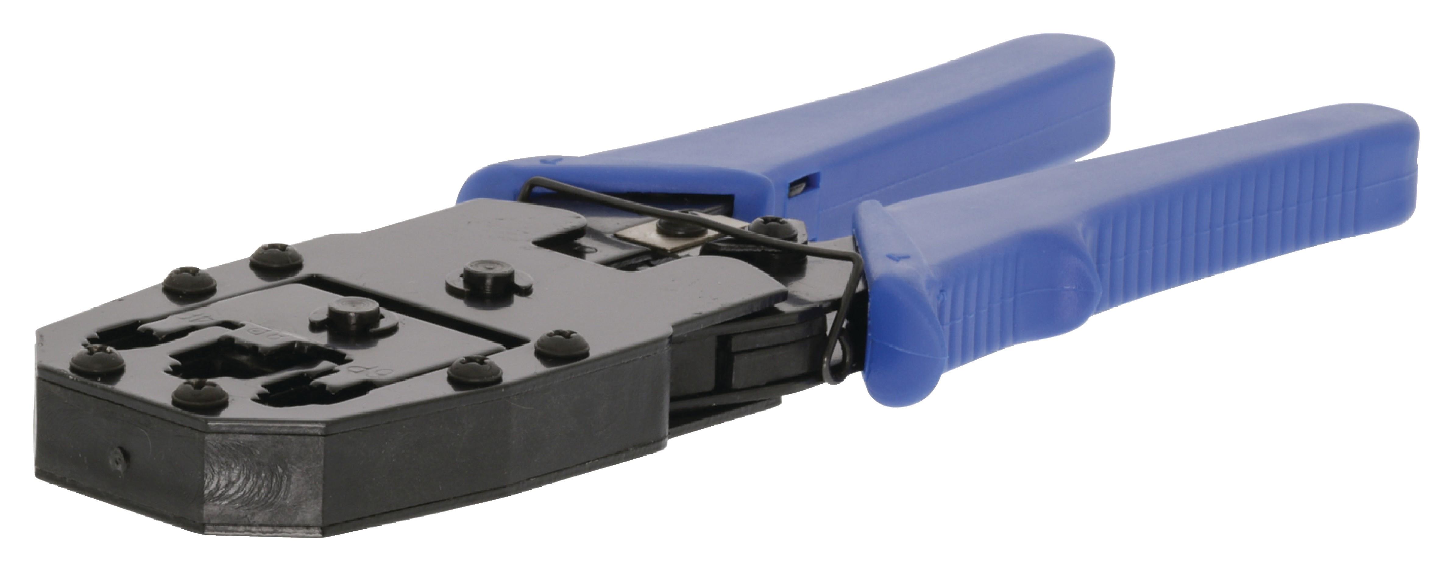 Krimpovací kleště RJ10, RJ11, RJ45 Valueline VLCP89510L