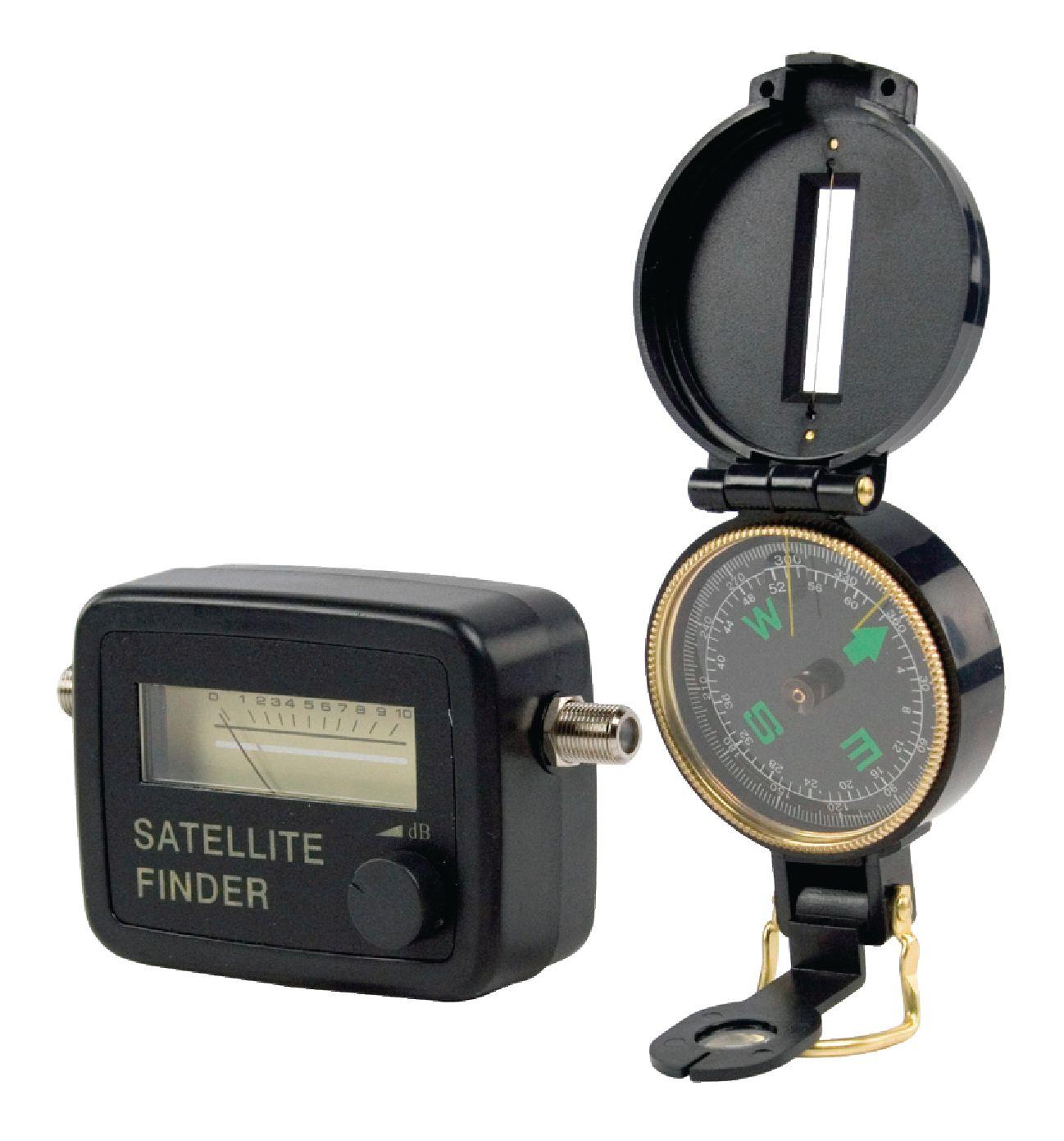 Souprava pro vyhledání SAT družice a signálu