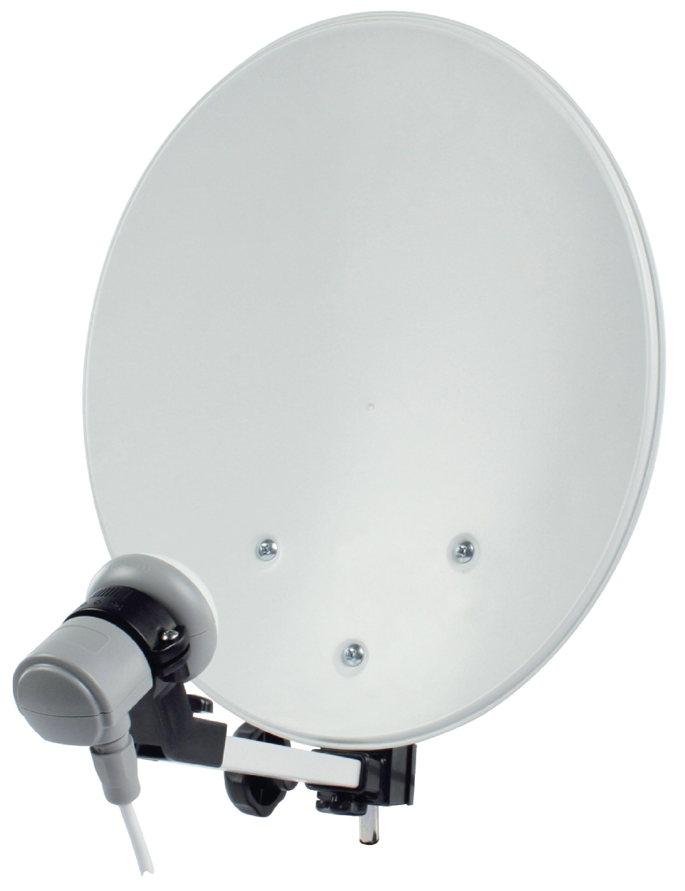 Satelitní Sada na Kempování 35 cm Bílá
