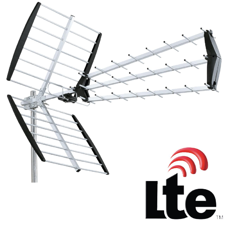 Anténa König UHF DVB-T/T2 LTE 15 dB