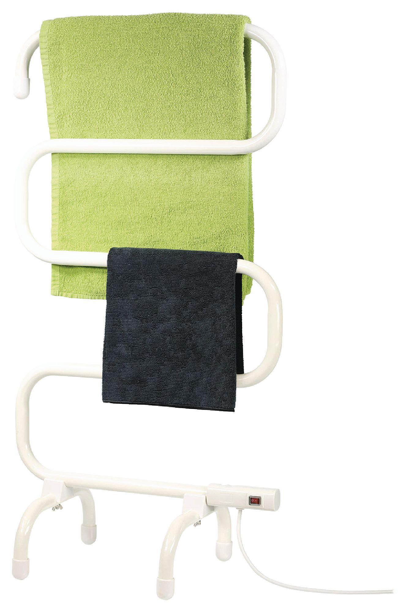 Elektrický volně stojící ohřívač ručníků 100 W