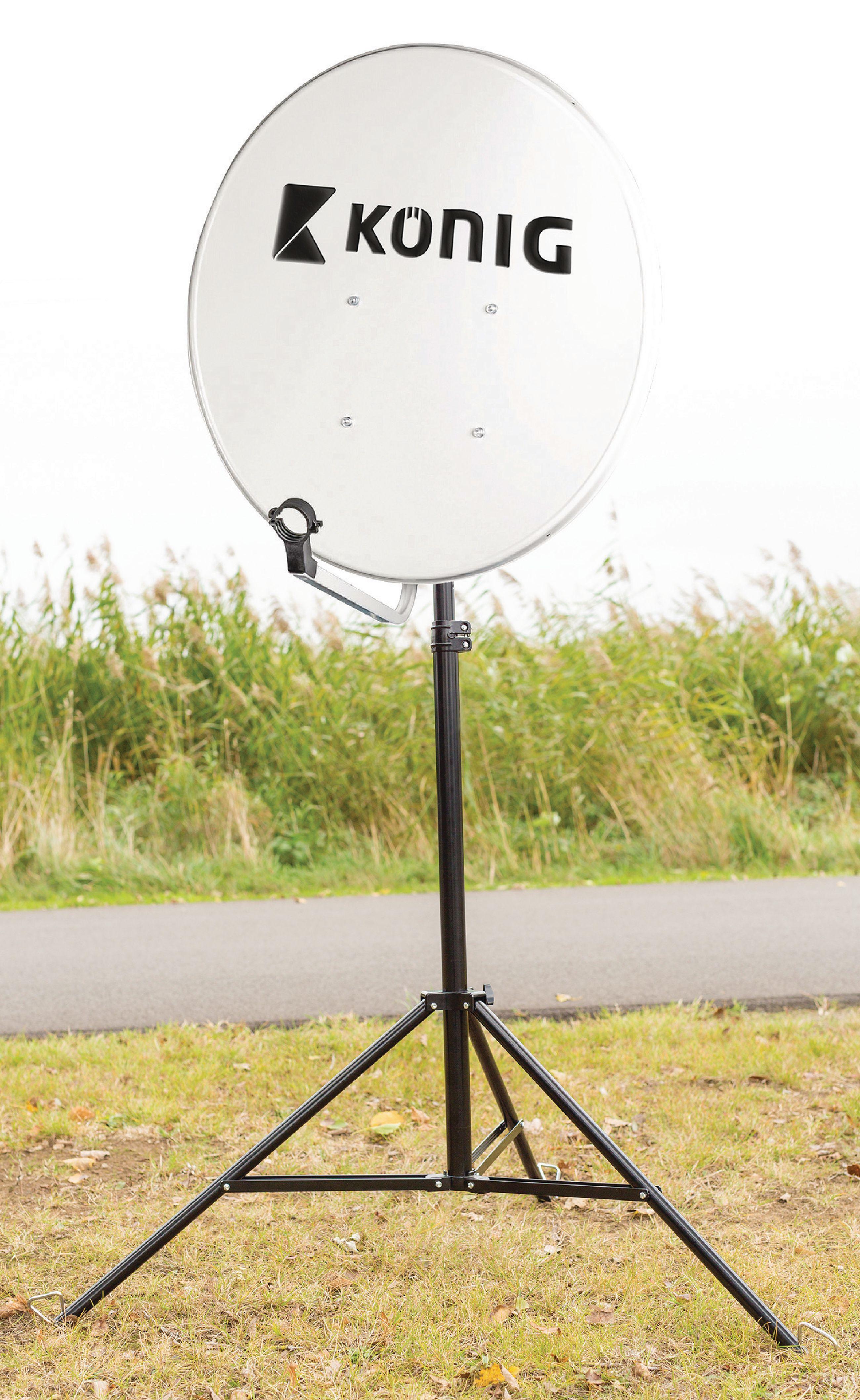 Stativ pro SAT parabolu do 100 cm, König SAT-TRIPOD13