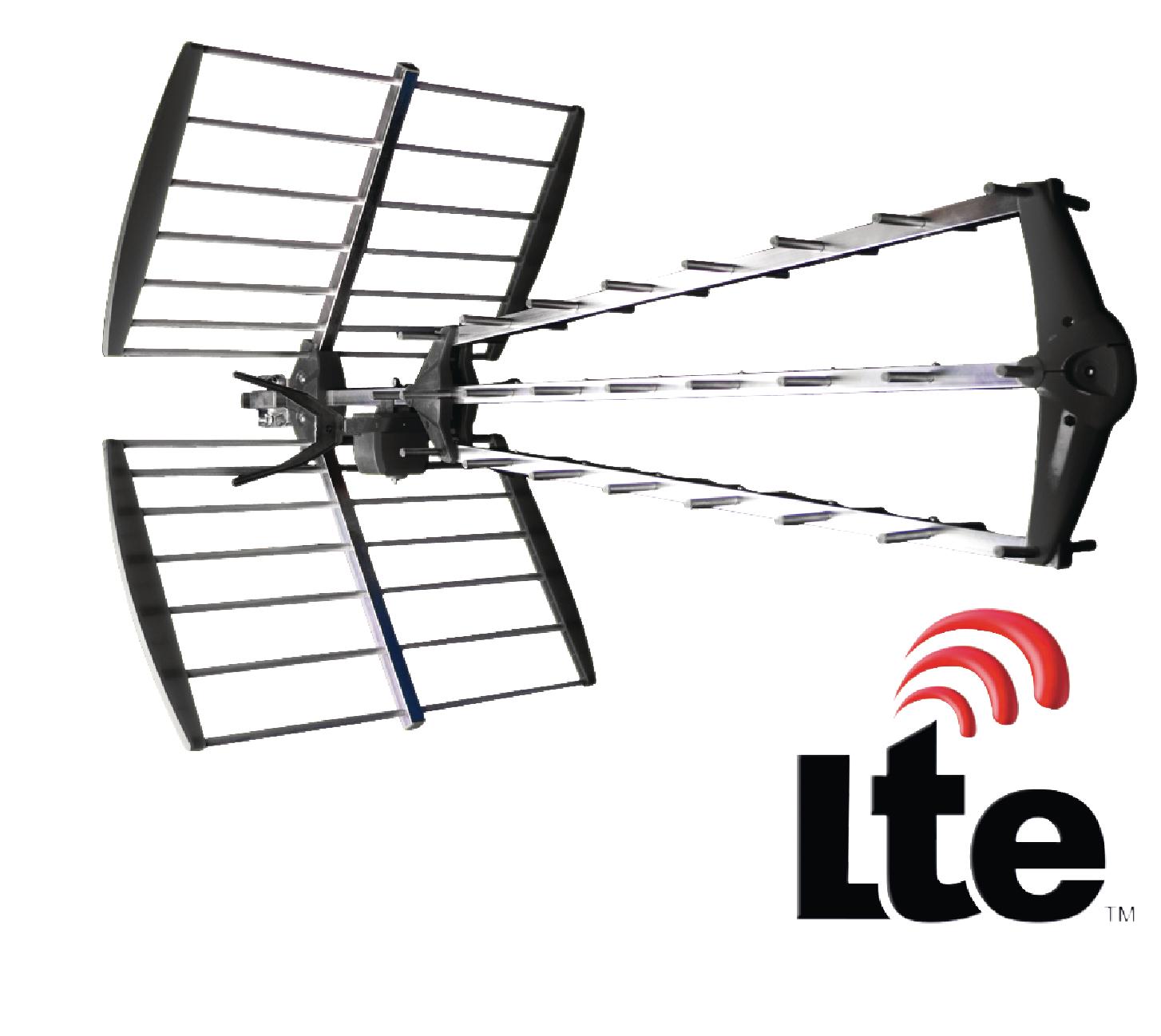 Anténa König UHF DVB-T/T2 LTE 15.5 dB