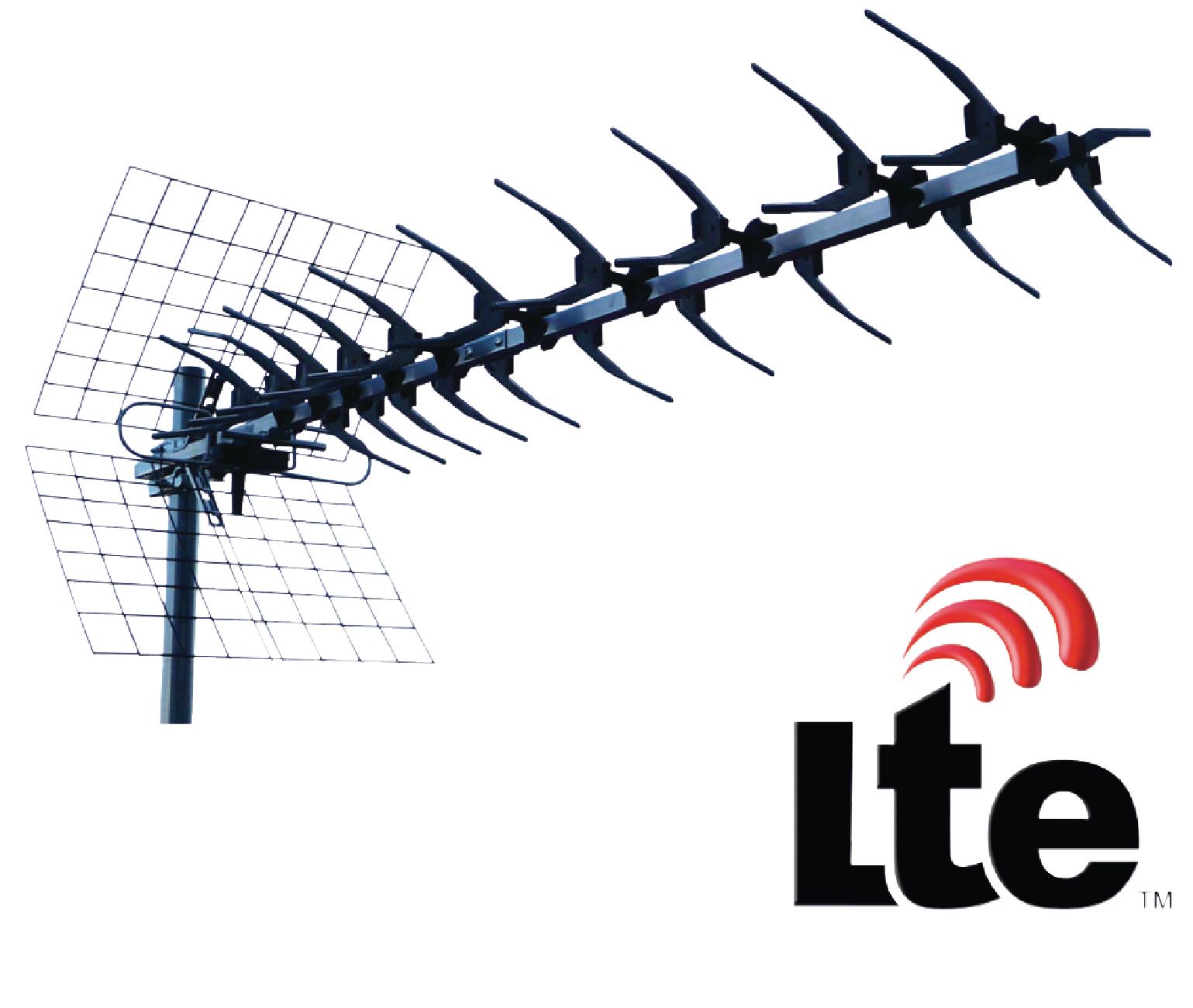 Anténa König UHF DVB-T/T2 LTE 13 dB