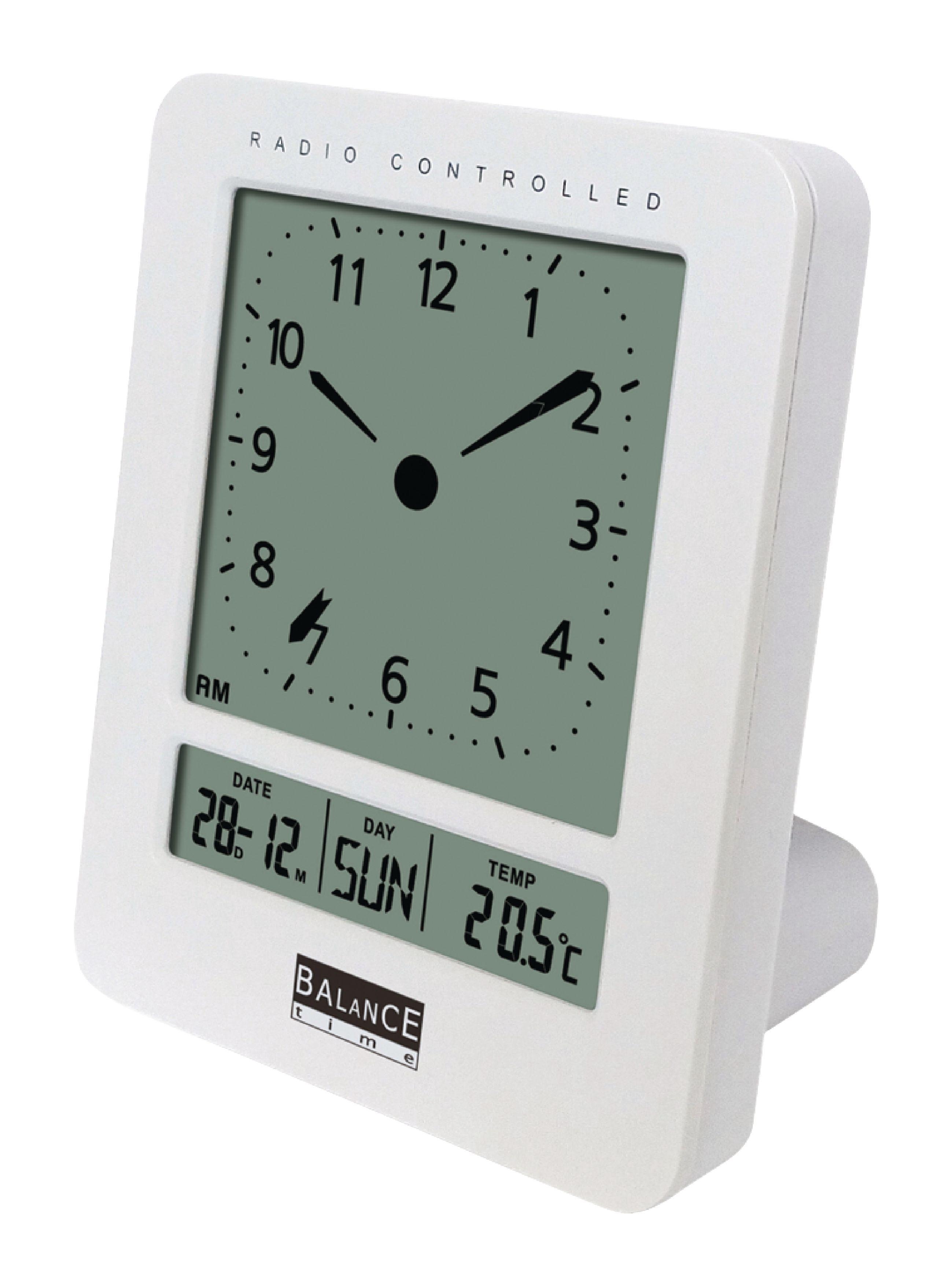 Rádiem řízený digitální LCD budík s teploměrem Balance 862479