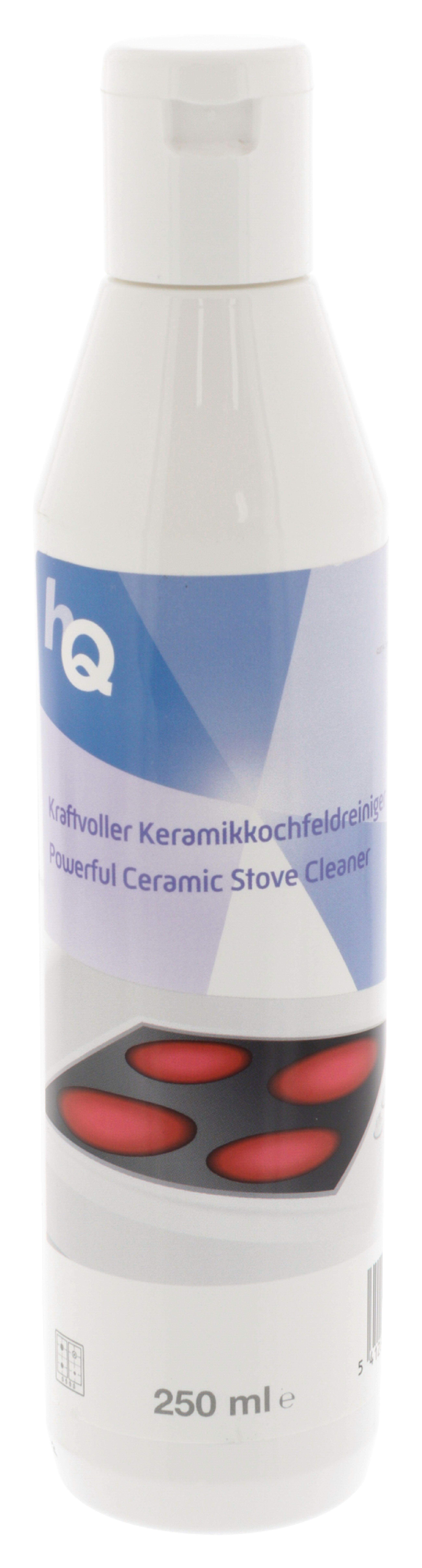 Čisticí prostředek na sklokeramické varné desky 250 ml HQ W9-09602GF