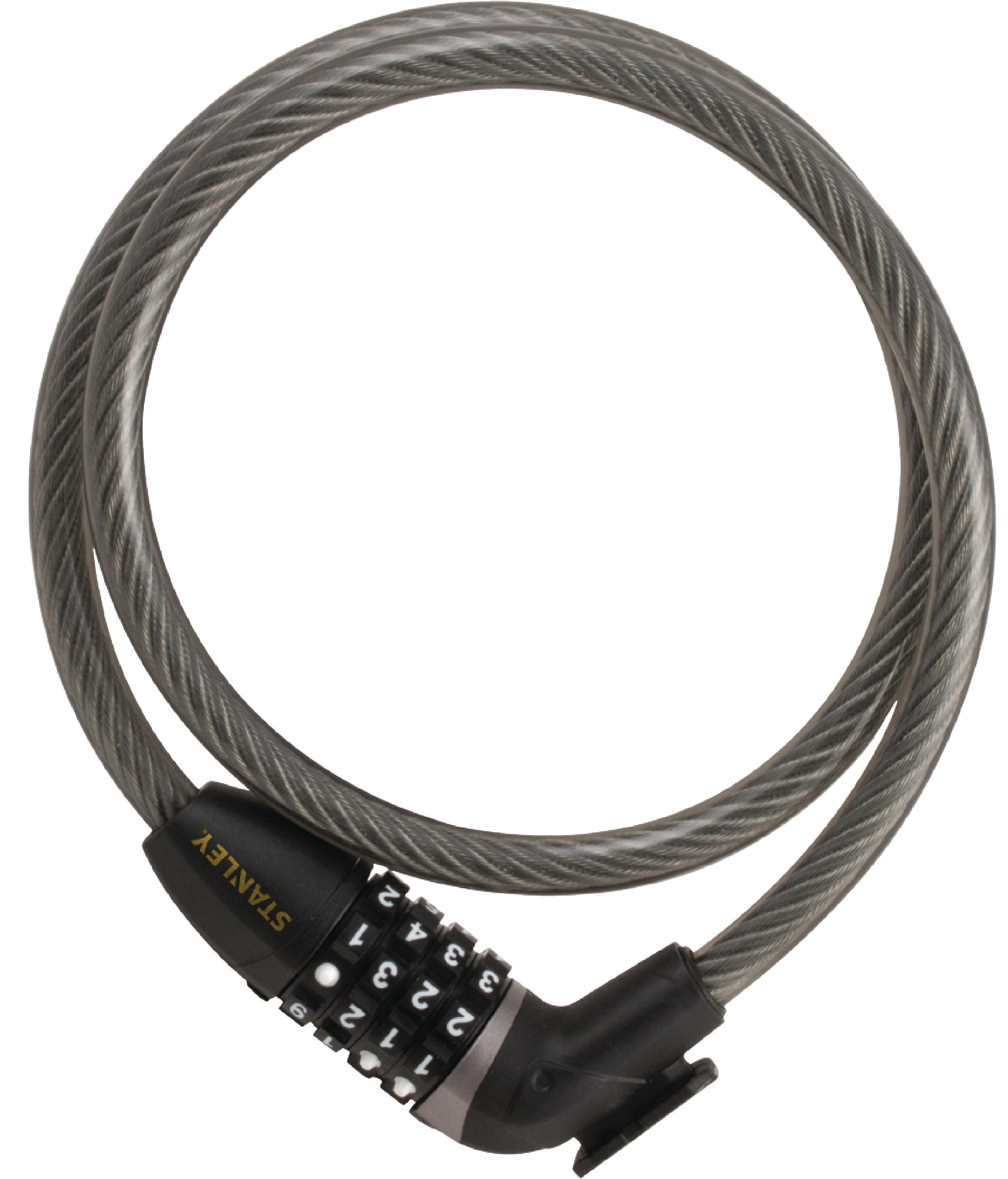 Kódový zámek na kolo 900x12mm Stanley S755-205