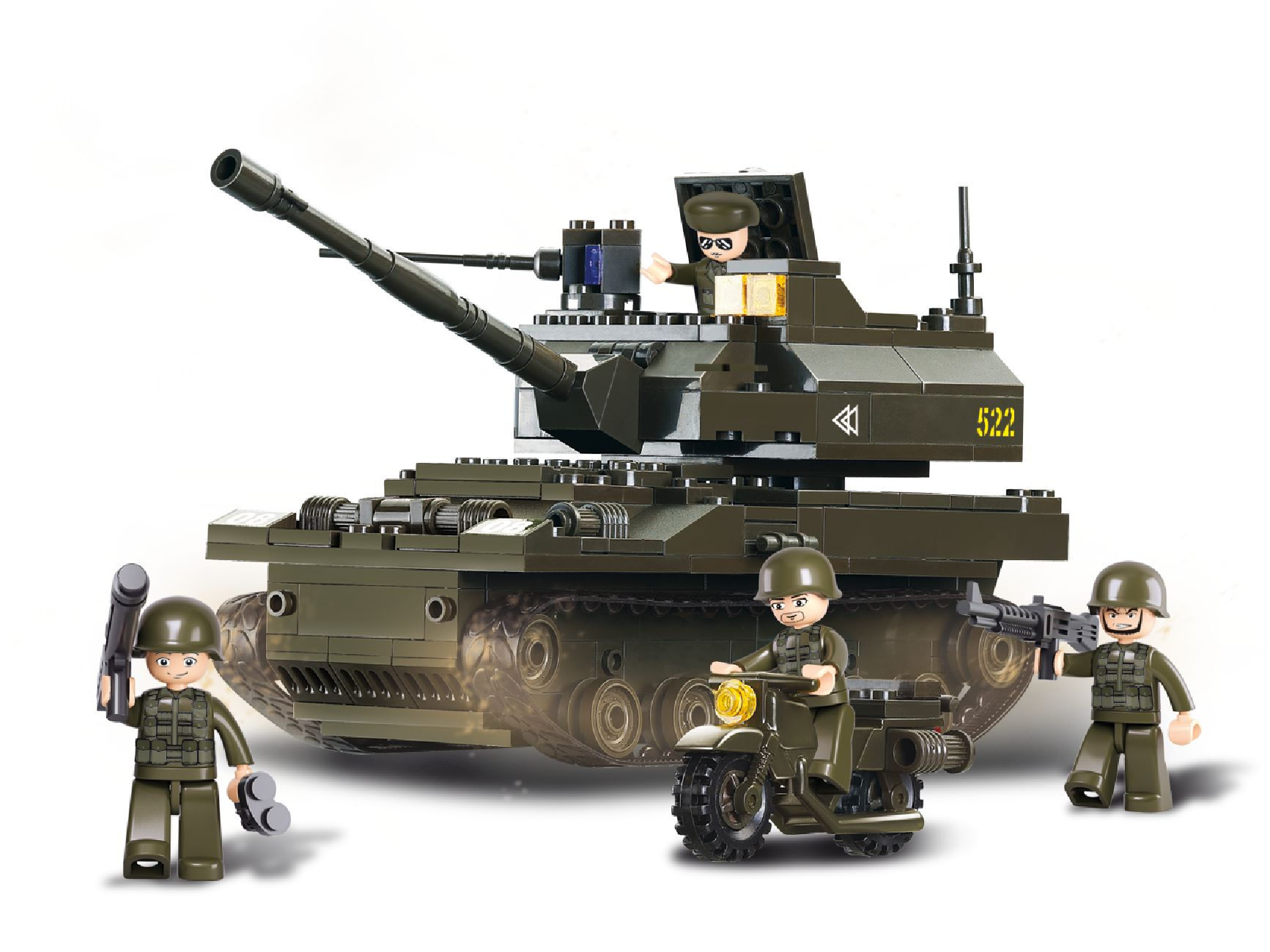 Sluban Army - Tank Leopard M38-B9800