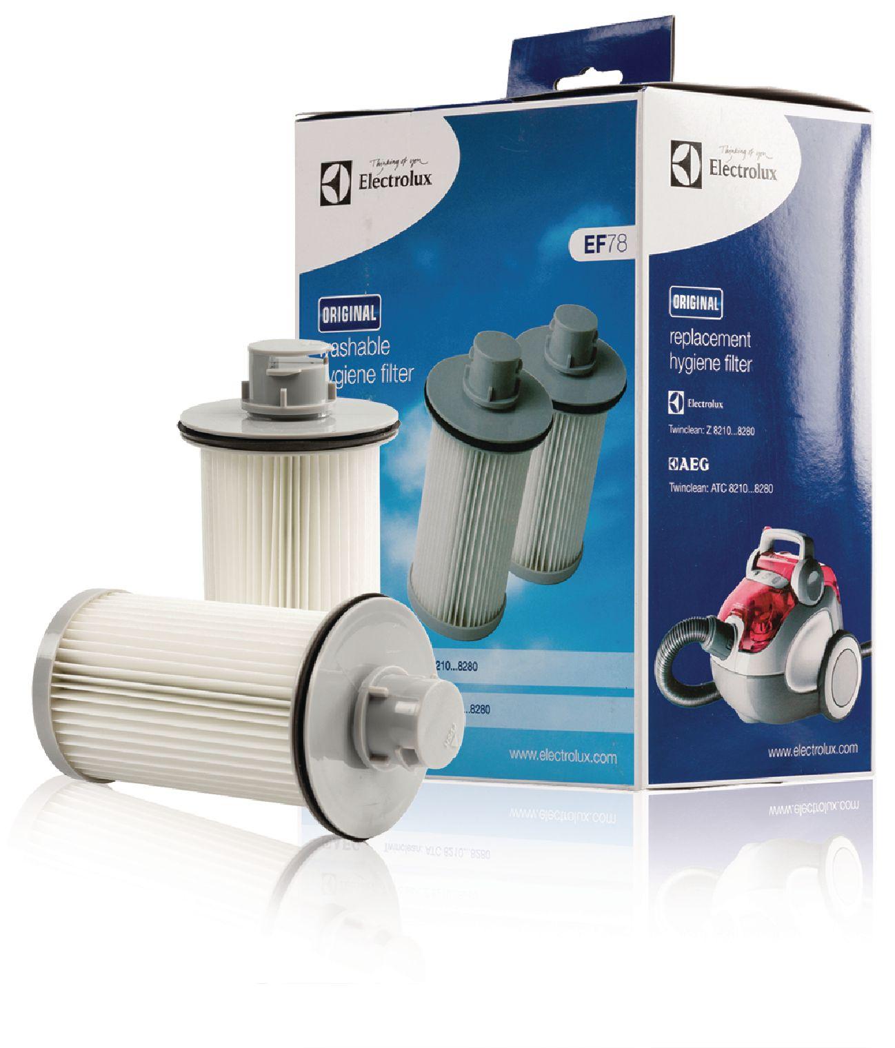 HEPA filtr pro vysavače AEG, Electrolux, 2ks Electrolux EF78