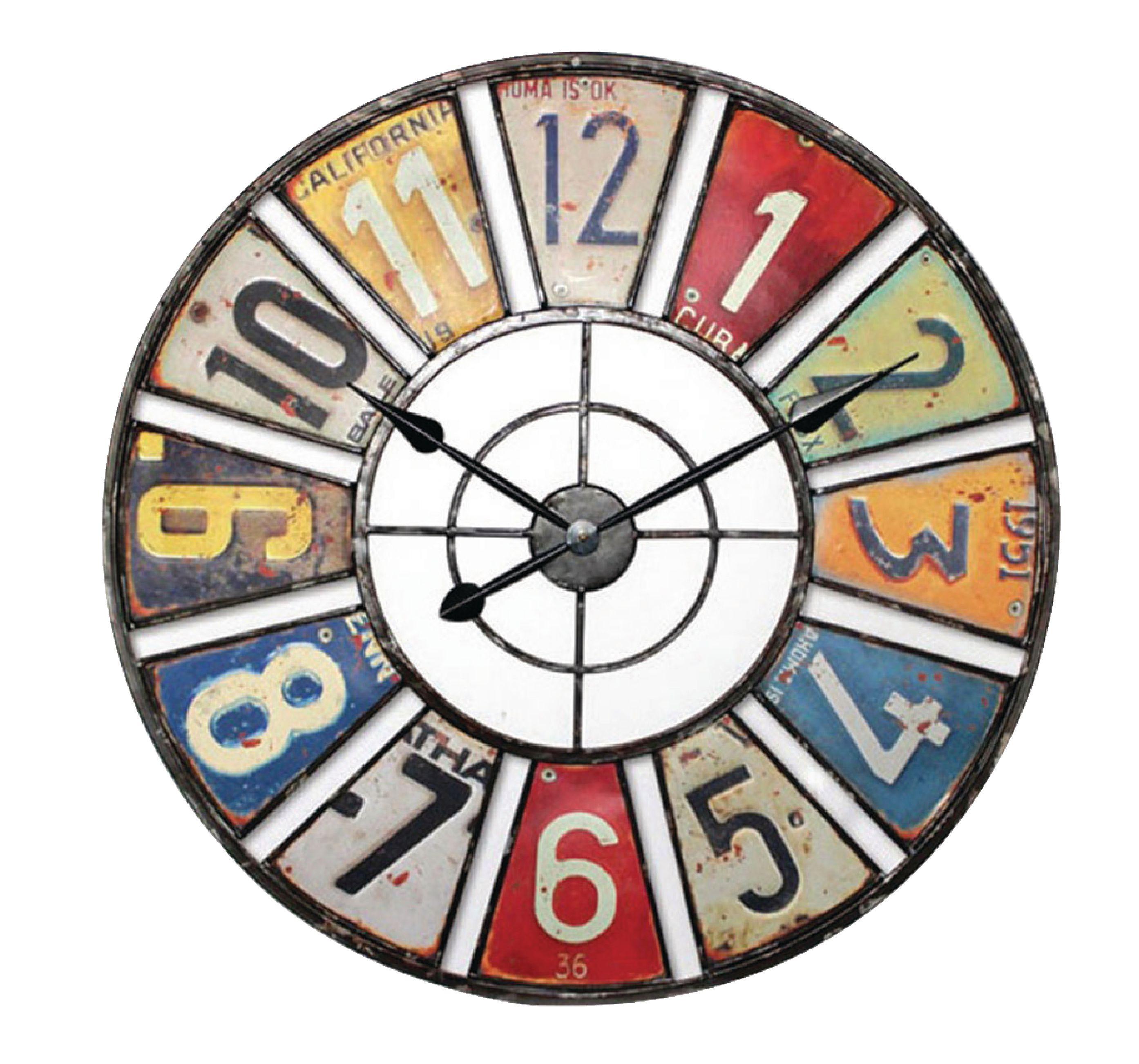 Retro analogové nástěnné hodiny 60 cm Balance 306965