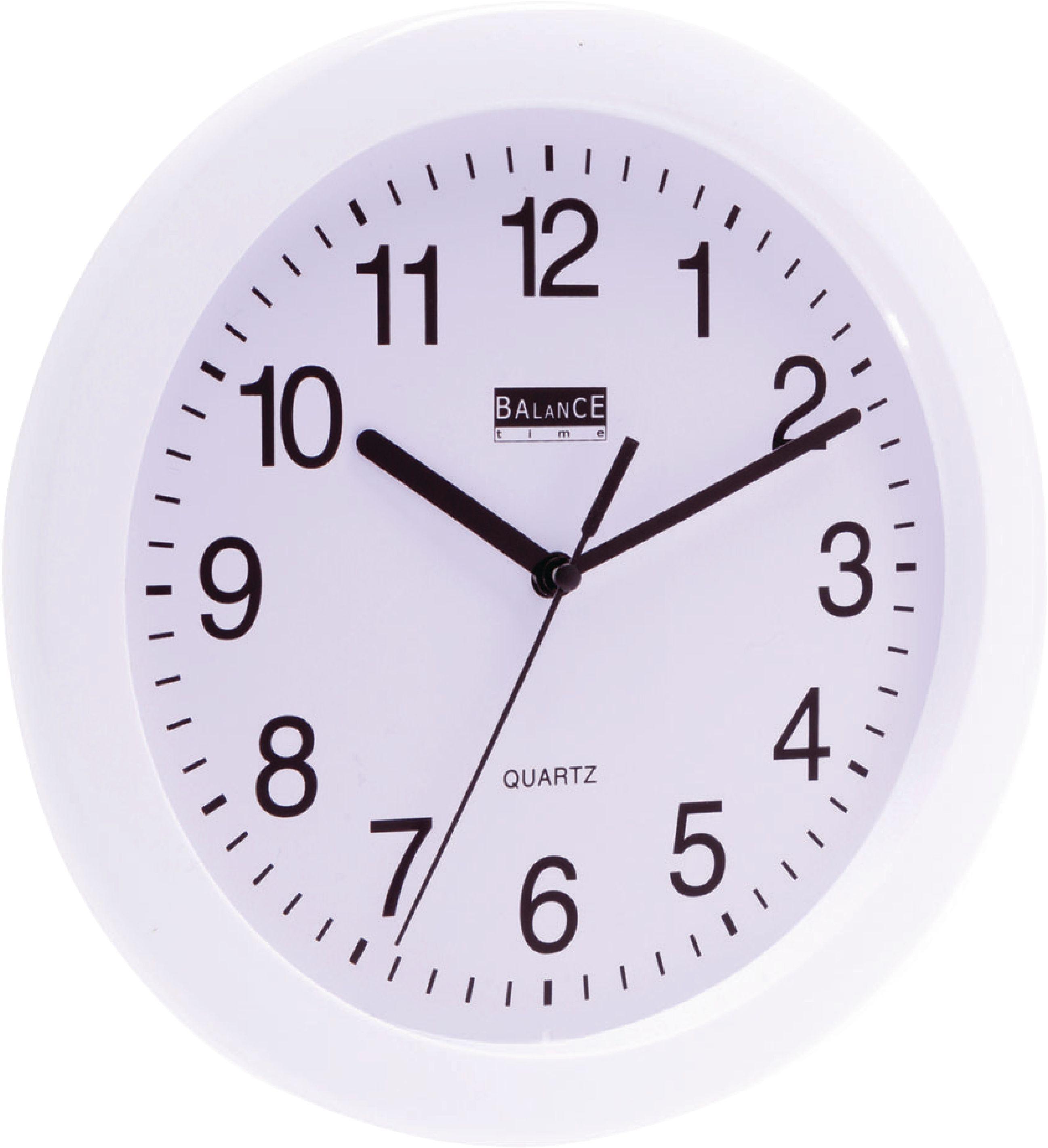 Analogové nástěnné hodiny 25 cm Balance 776064