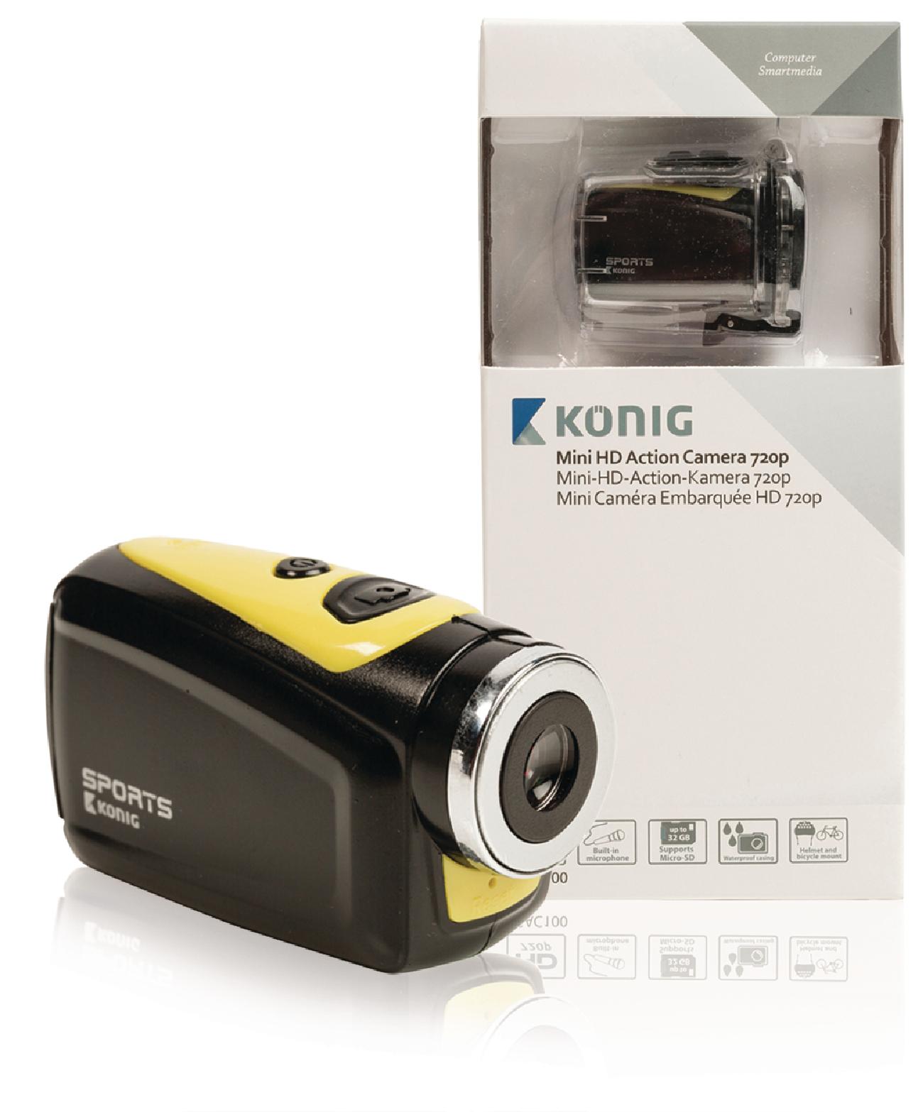 Sportovní HD kamera König CSAC100