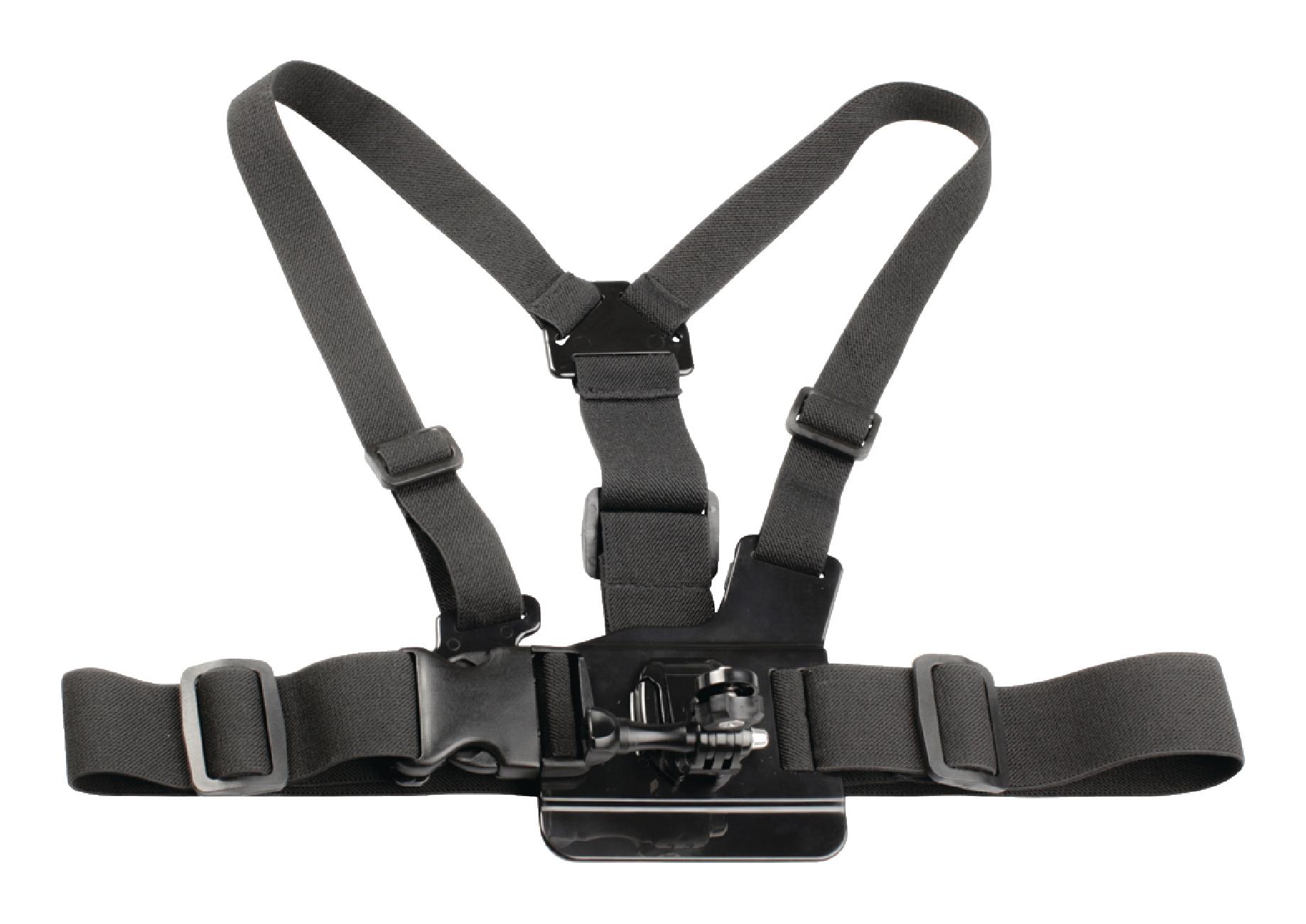 Postroj s držákem pro upevnění outdoorové kamery na hrudník Camlink CL-ACMK70