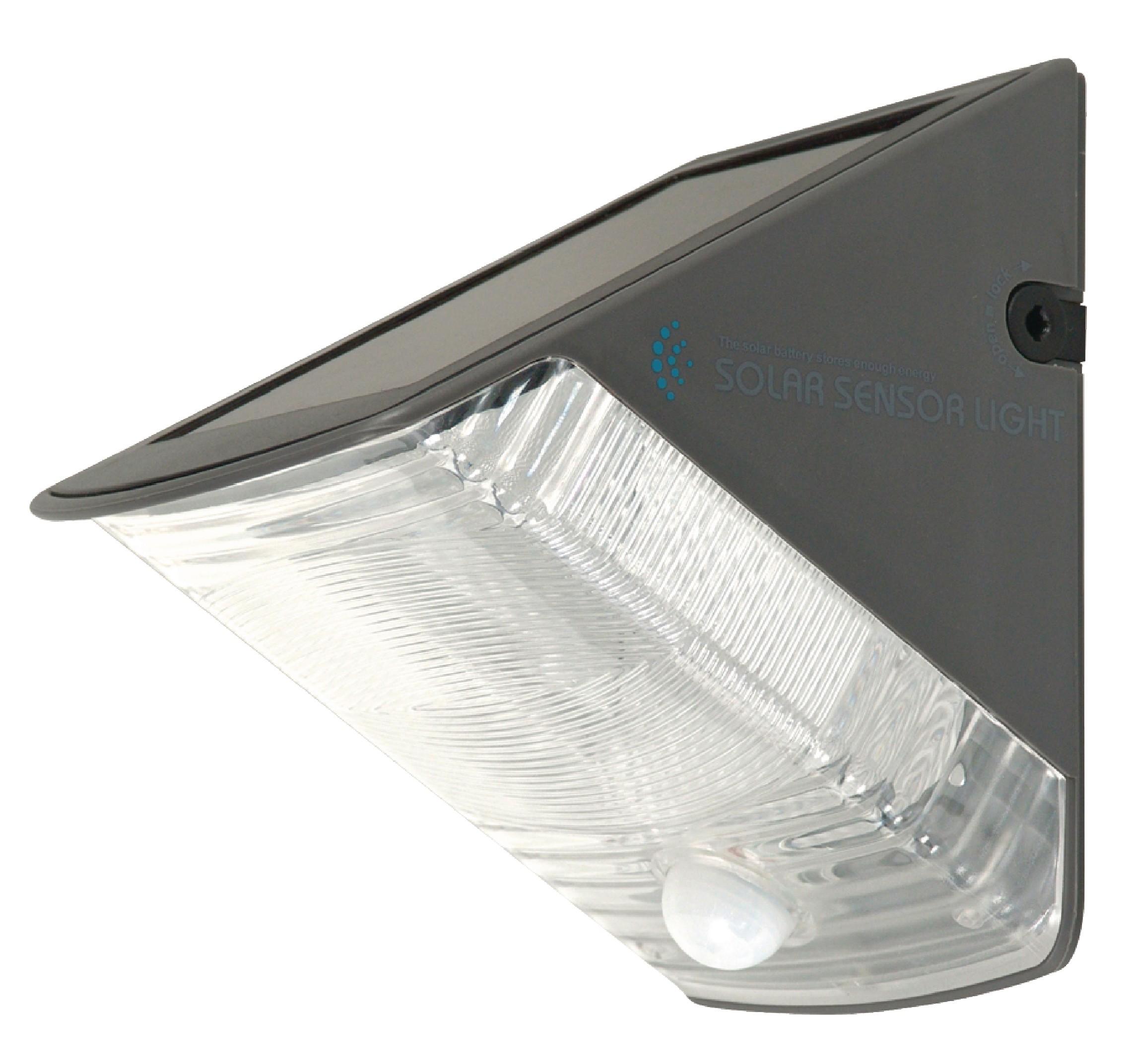 Venkovní LED solární nástěné svítidlo Ranex RA-5000261