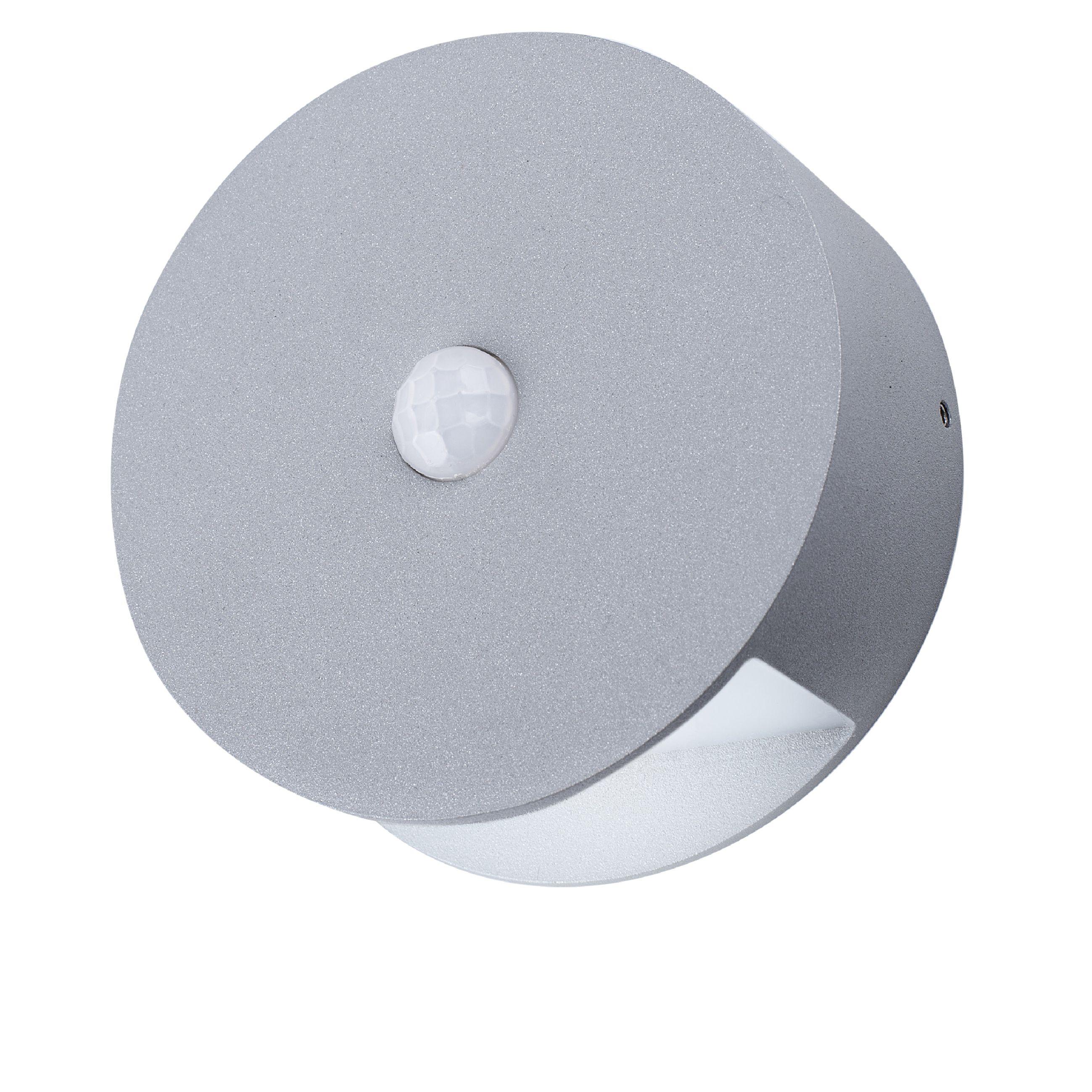 Venkovní nástěnné LED svítidlo 0.5 W 60 lm PIR Ranex Smartwares GOB-001-MS, RA-1004236