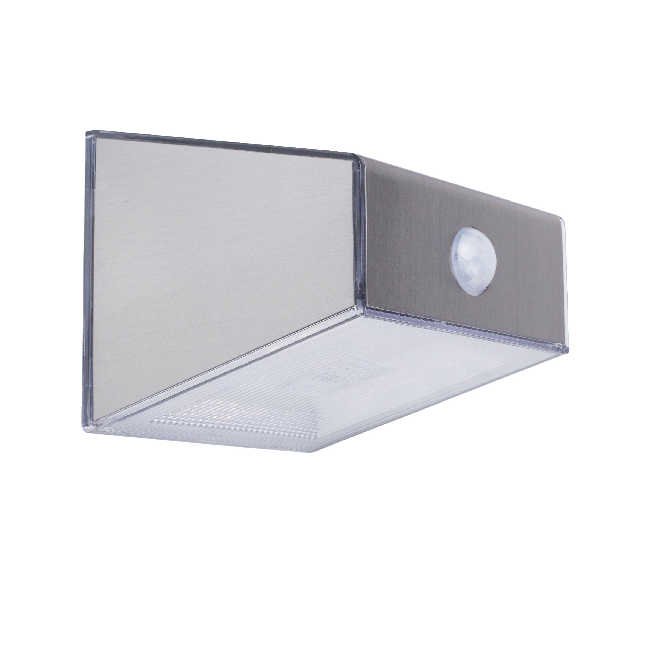 Venkovní solární nástěnné LED svítidlo PIR Ranex 5000.702, RA-1004583