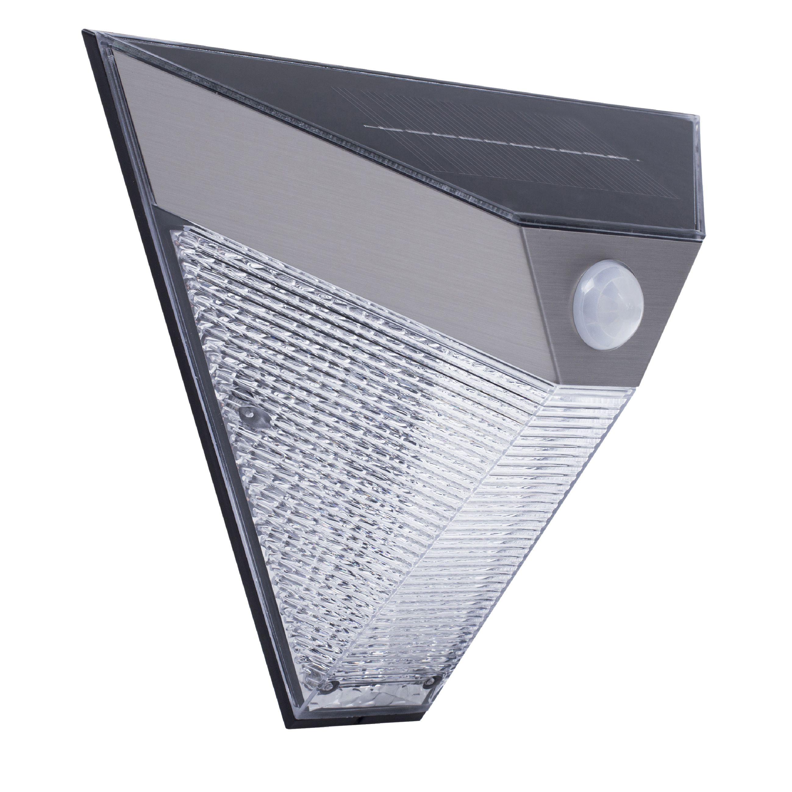 Venkovní solární nástěnné LED svítidlo PIR Ranex 5000.703, RA-1004586