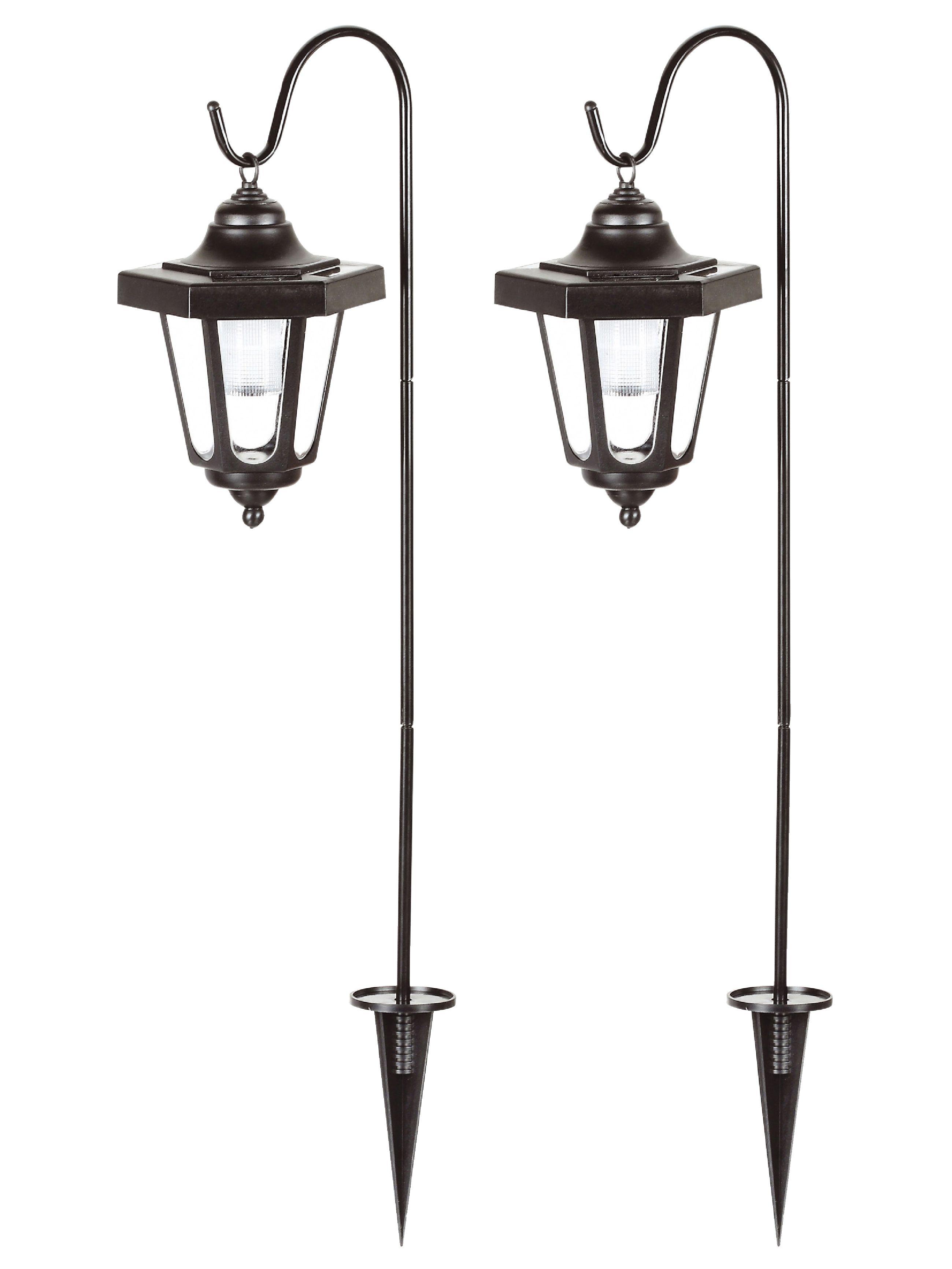 Venkovní LED solární zahradní svítidlo 2ks Ranex Claus RA-1006020